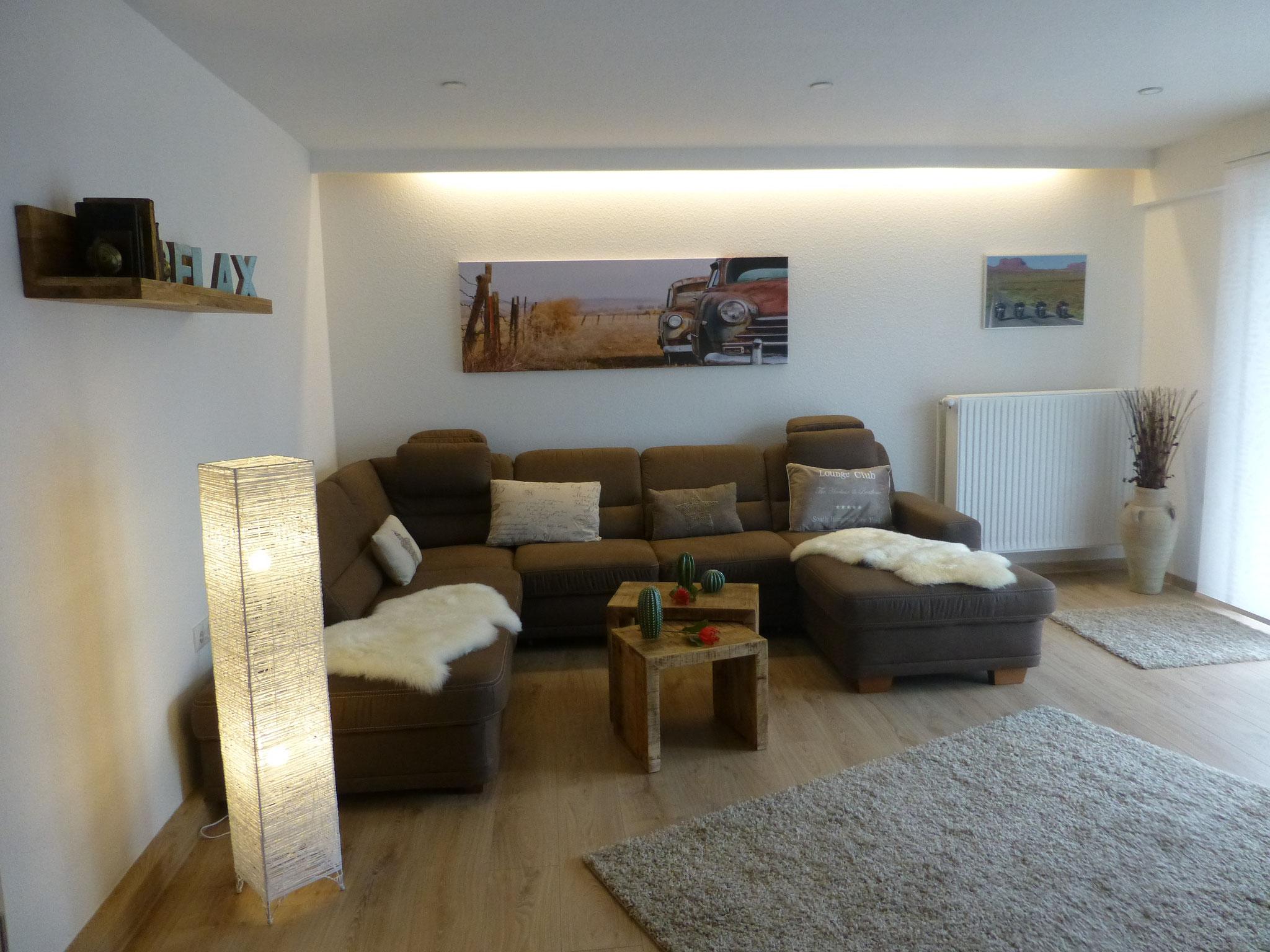 Wohnzimmer im Fuchsbau 1