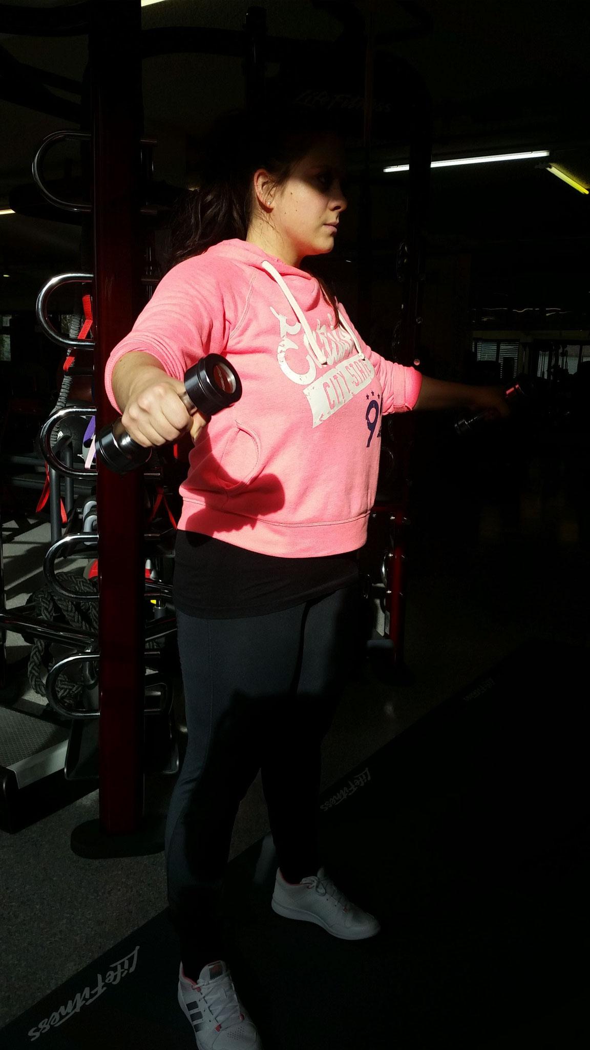 Personal Training Fitnessstudio Krafttraining Bodyforming Fettabbau