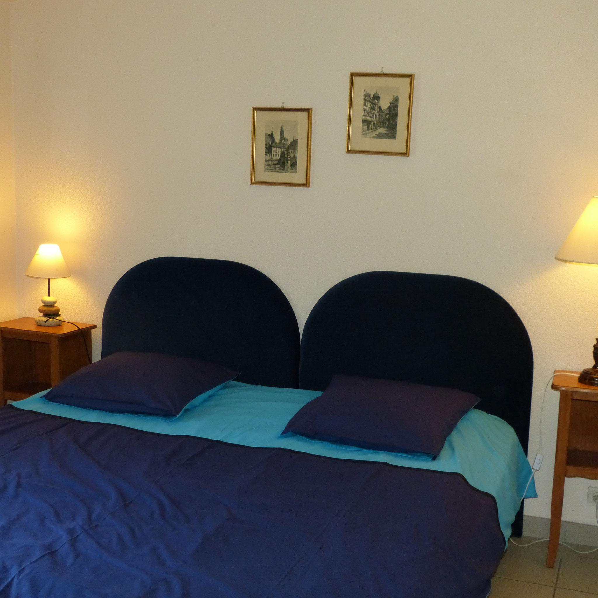 Chambre n° 3 - 1 lit 180 cm NORD