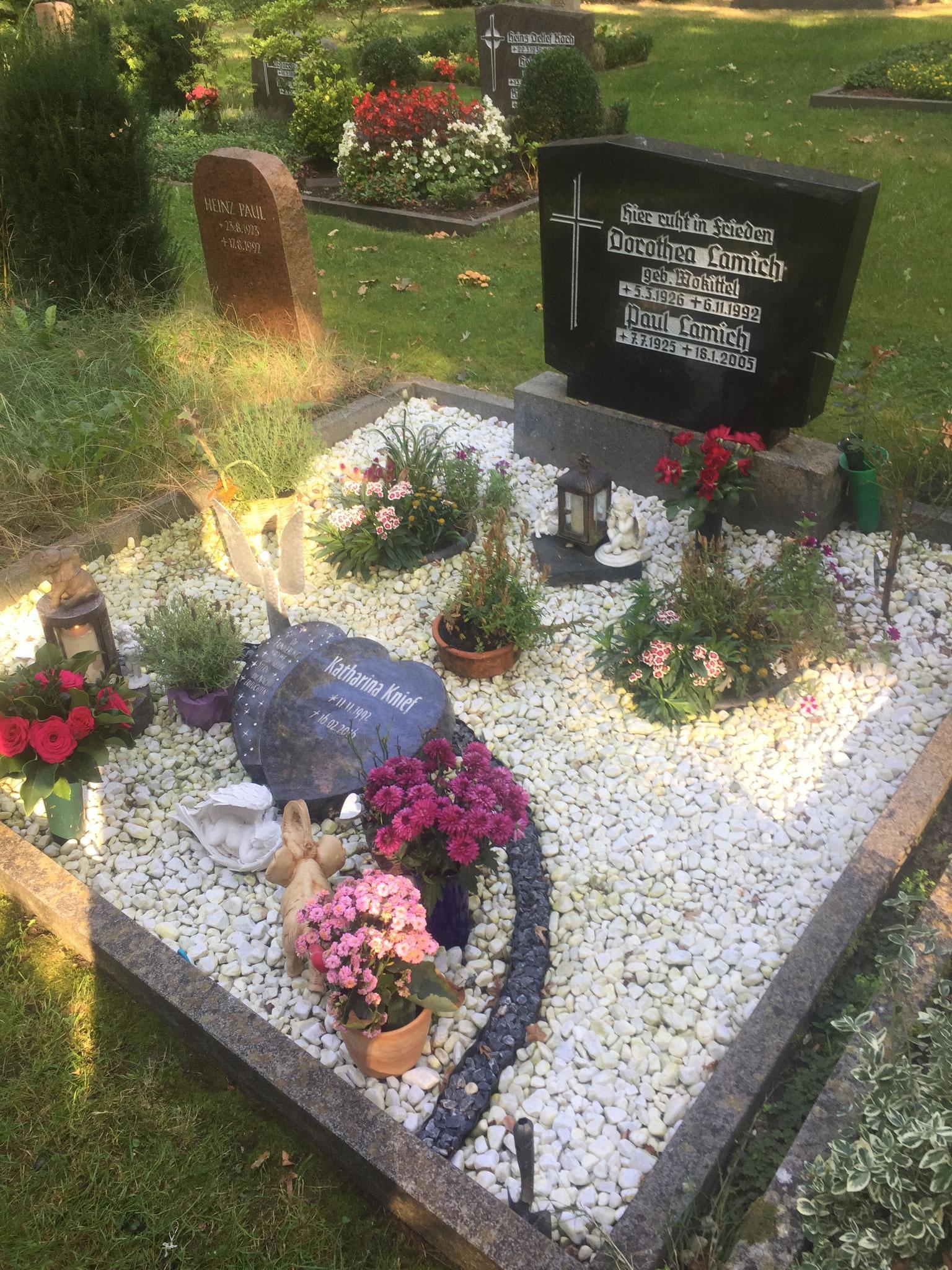Ihr Grab vom 10.09.2016
