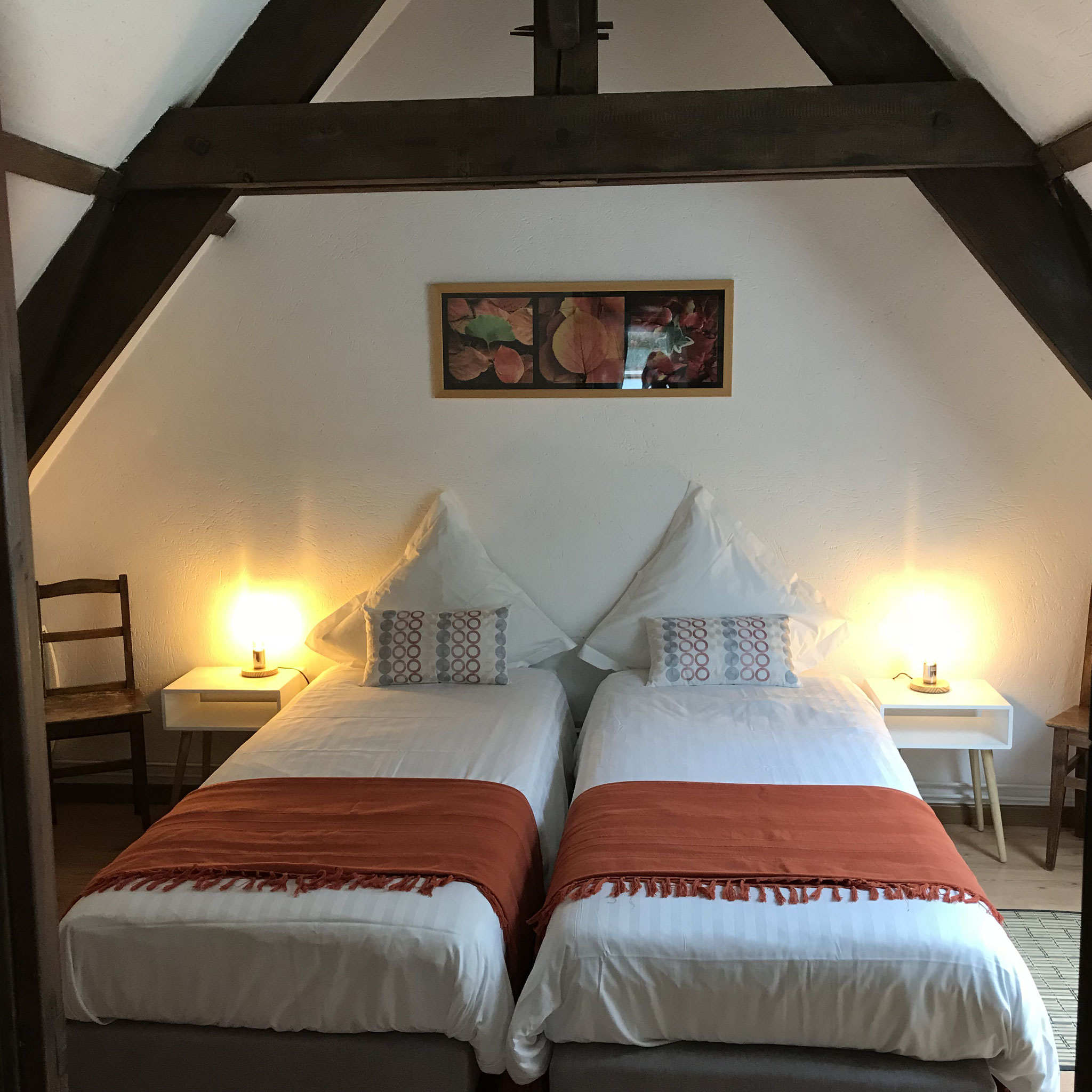 2. Schlafzimmer mit 2 Einzel-, oder 1 Doppelbett