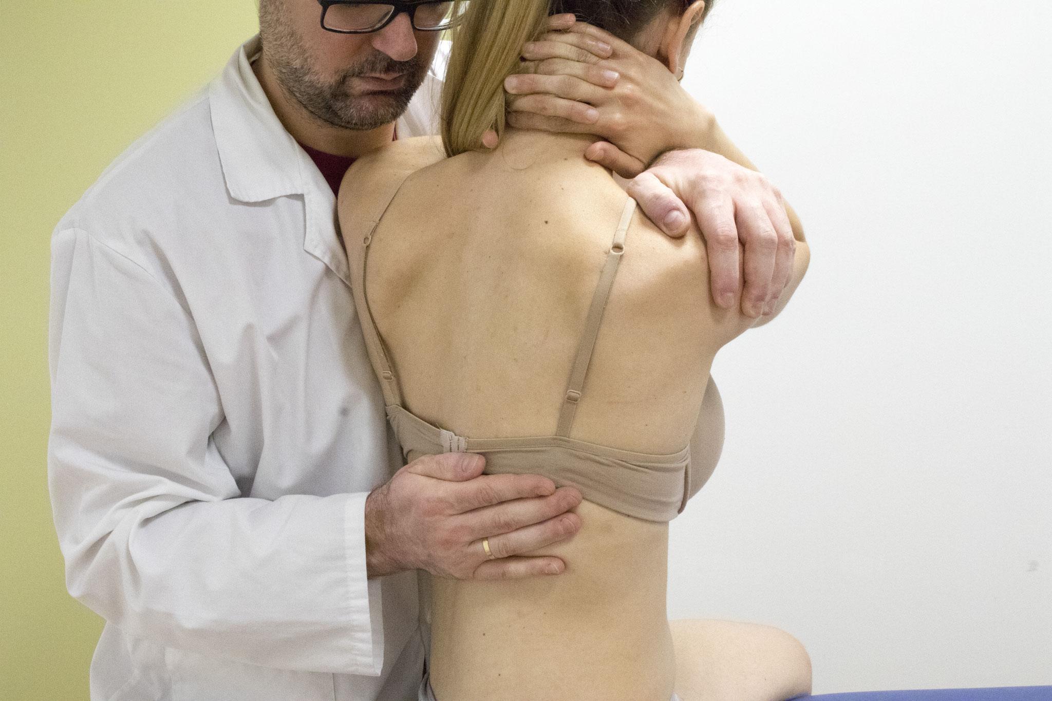 Tecnica manipulativa dorso-lumbar
