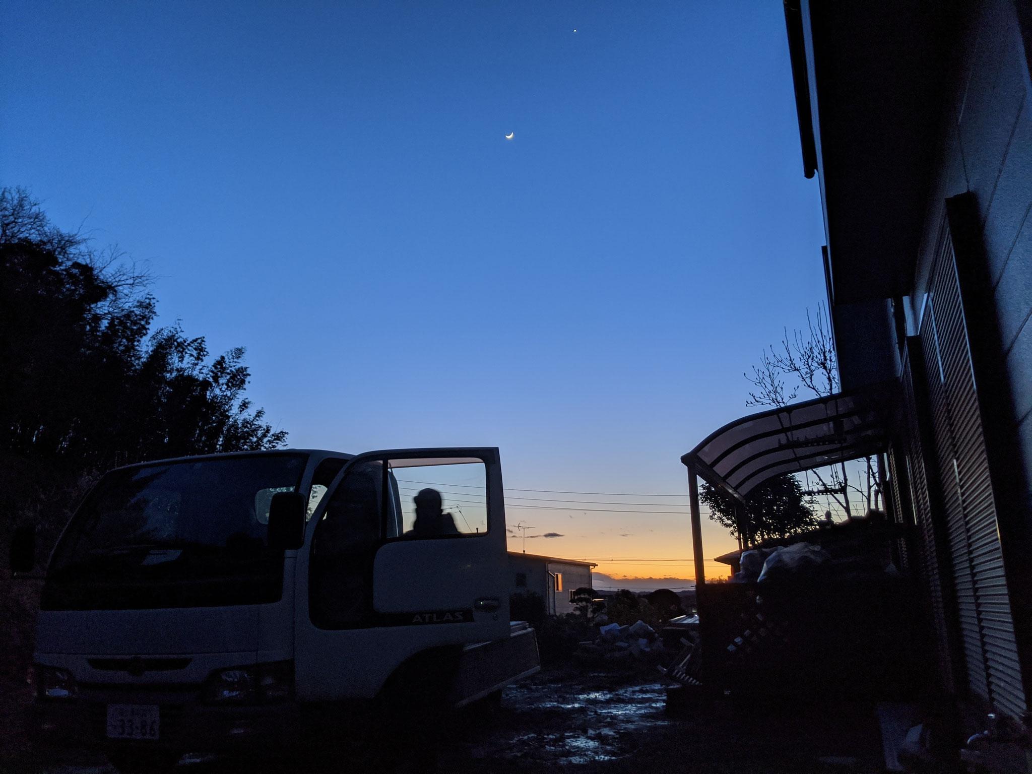 夕焼けがきれいなのも一宮町の魅力