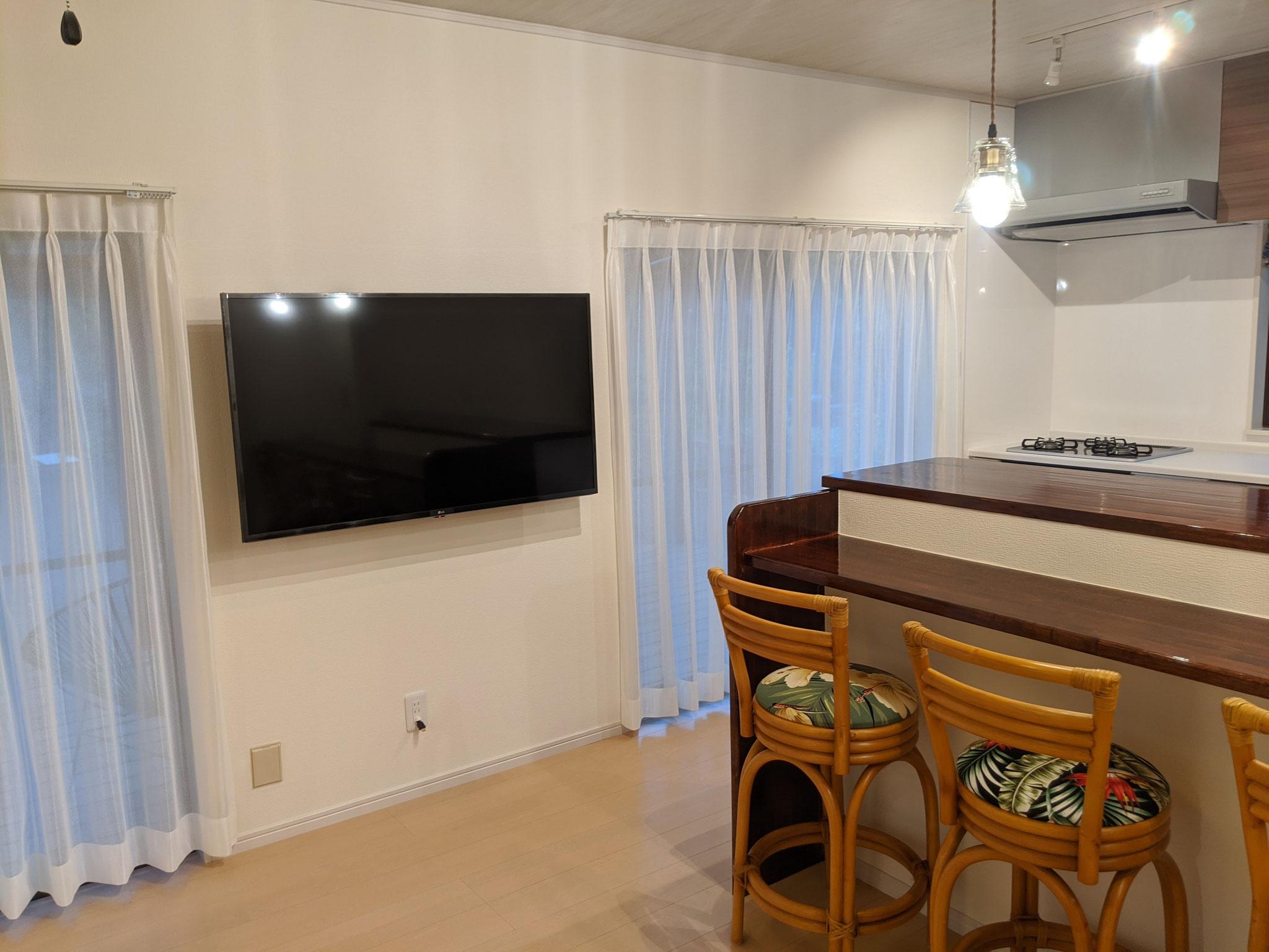 LG50インチ4Kテレビ