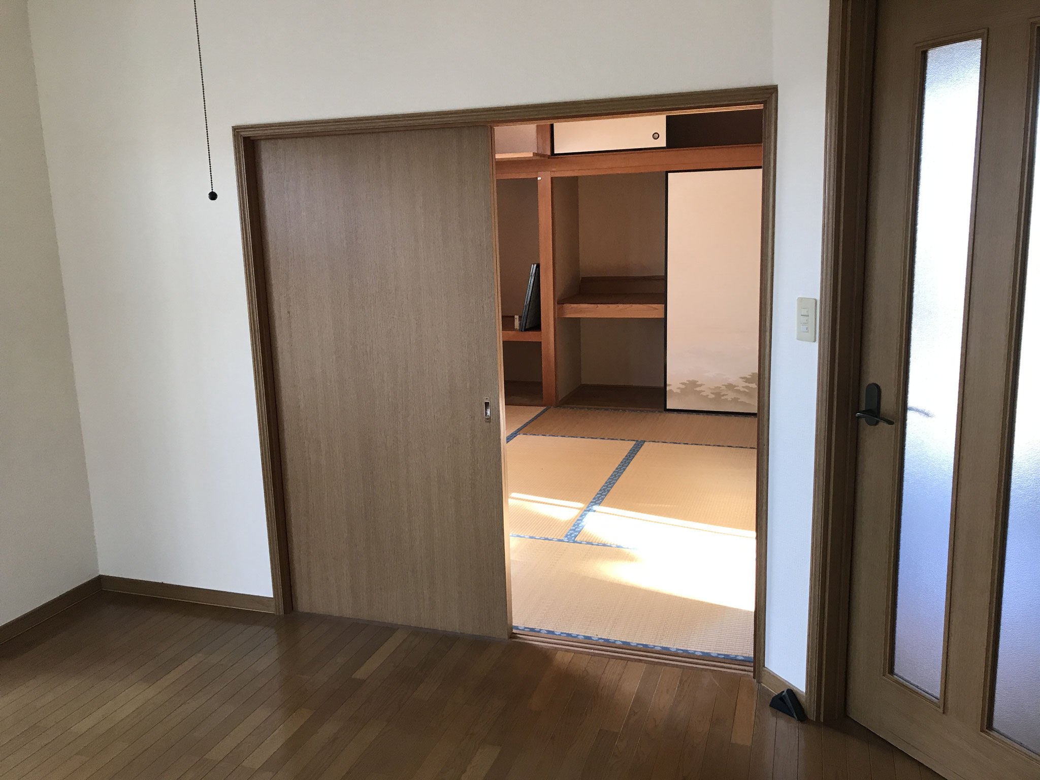 施工前和室