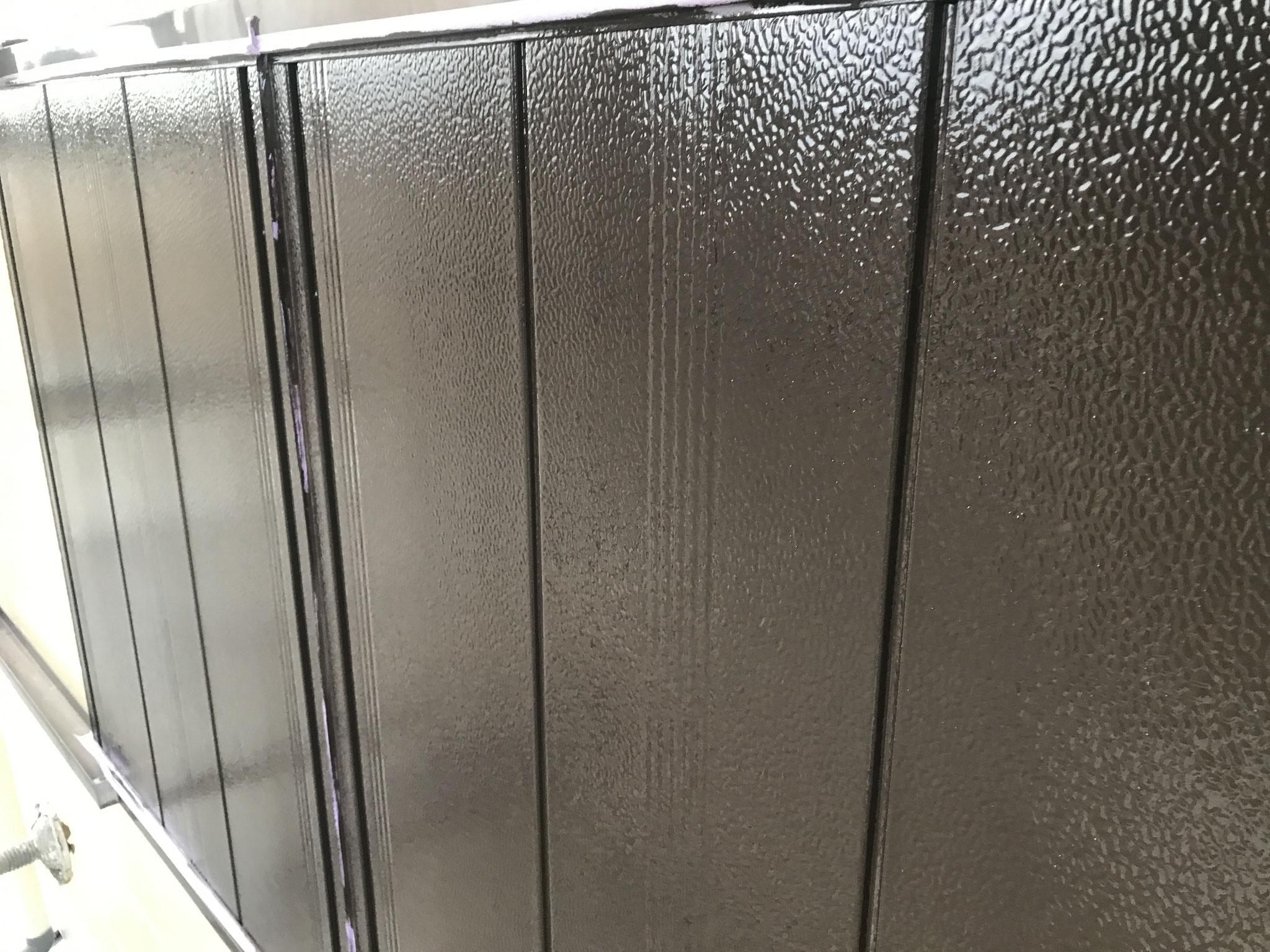 雨戸塗装後