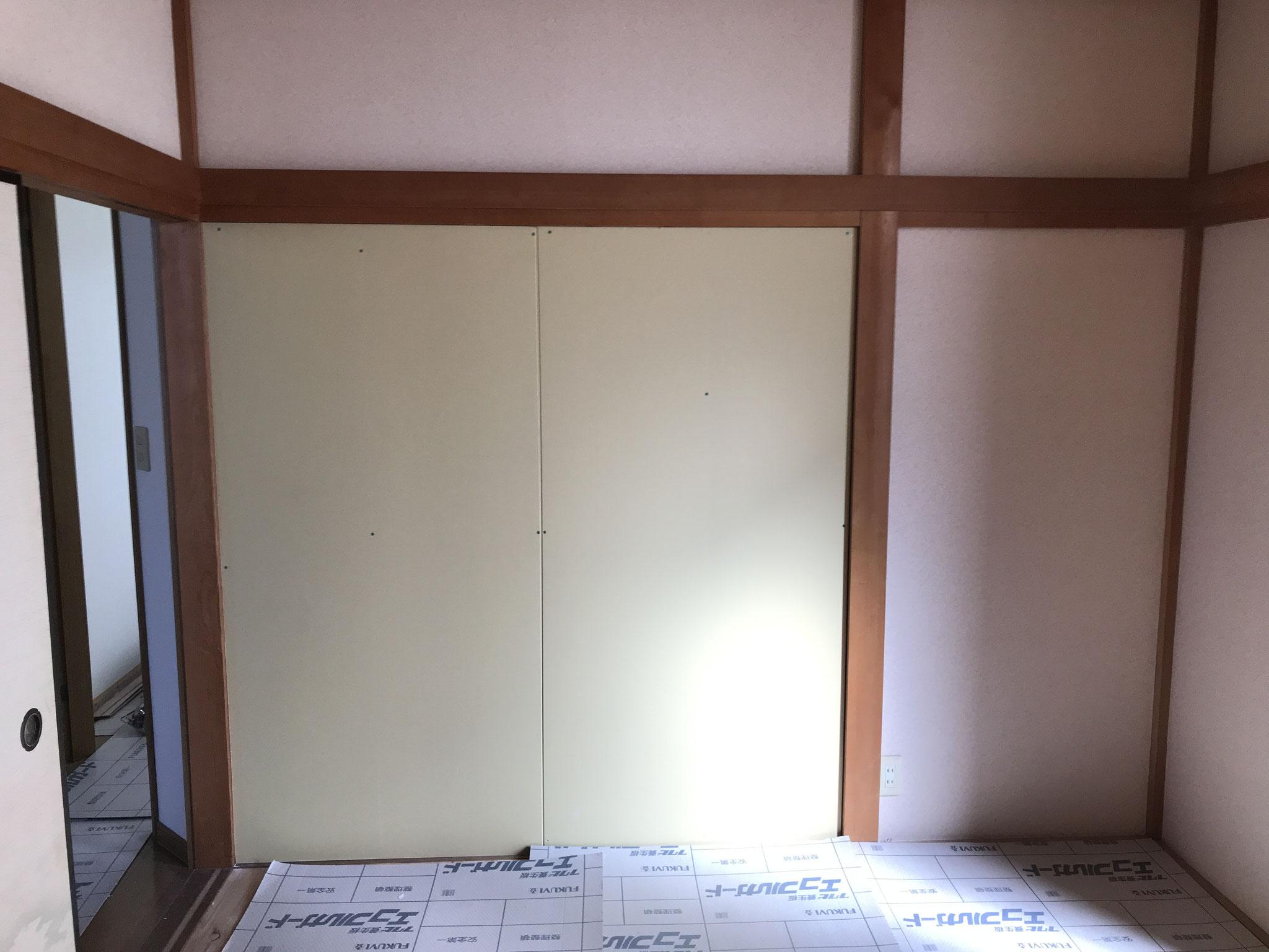 和室壁新設