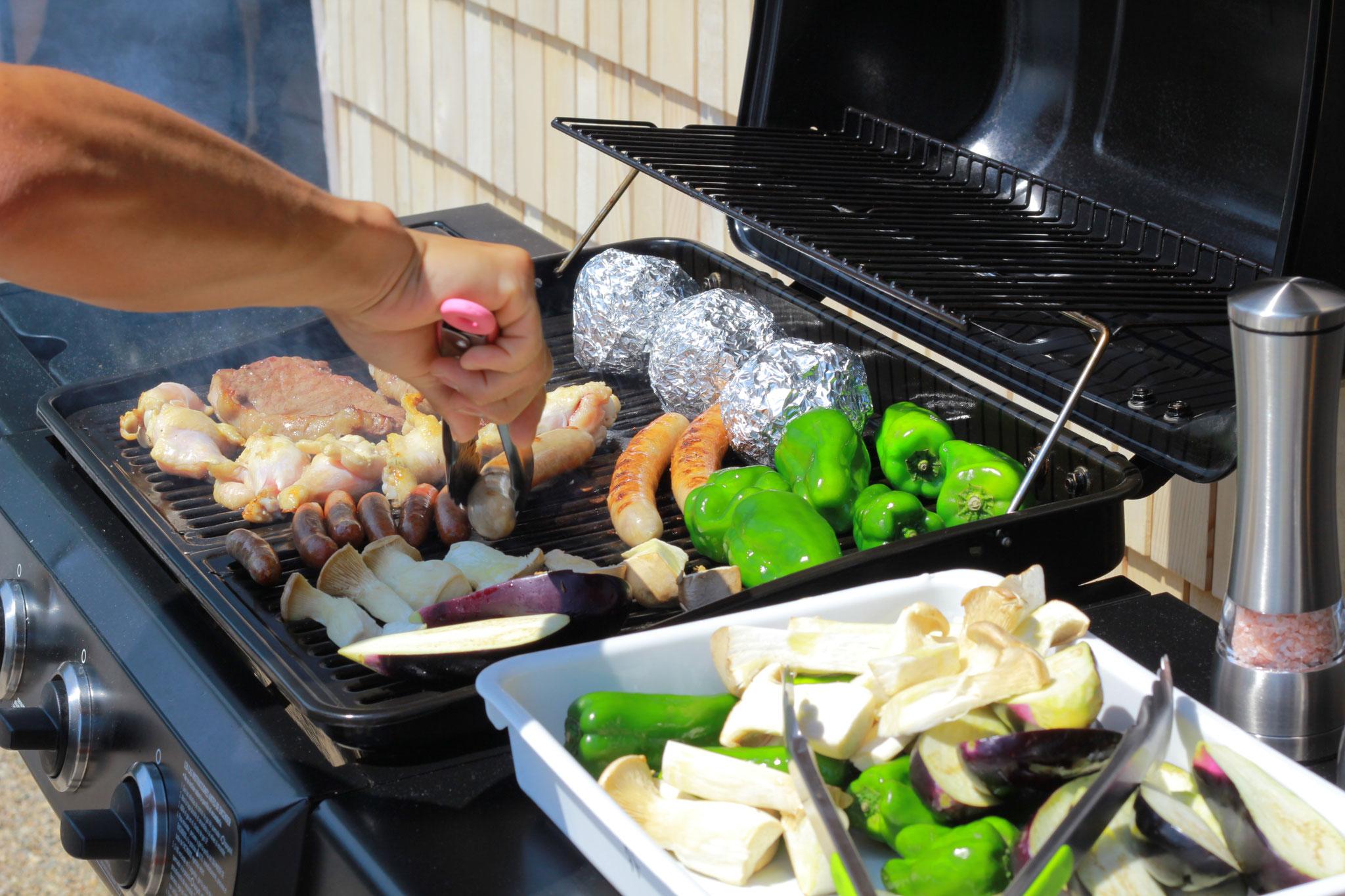 食材はこちらで準備するので手ぶらでBBQが楽しめます。