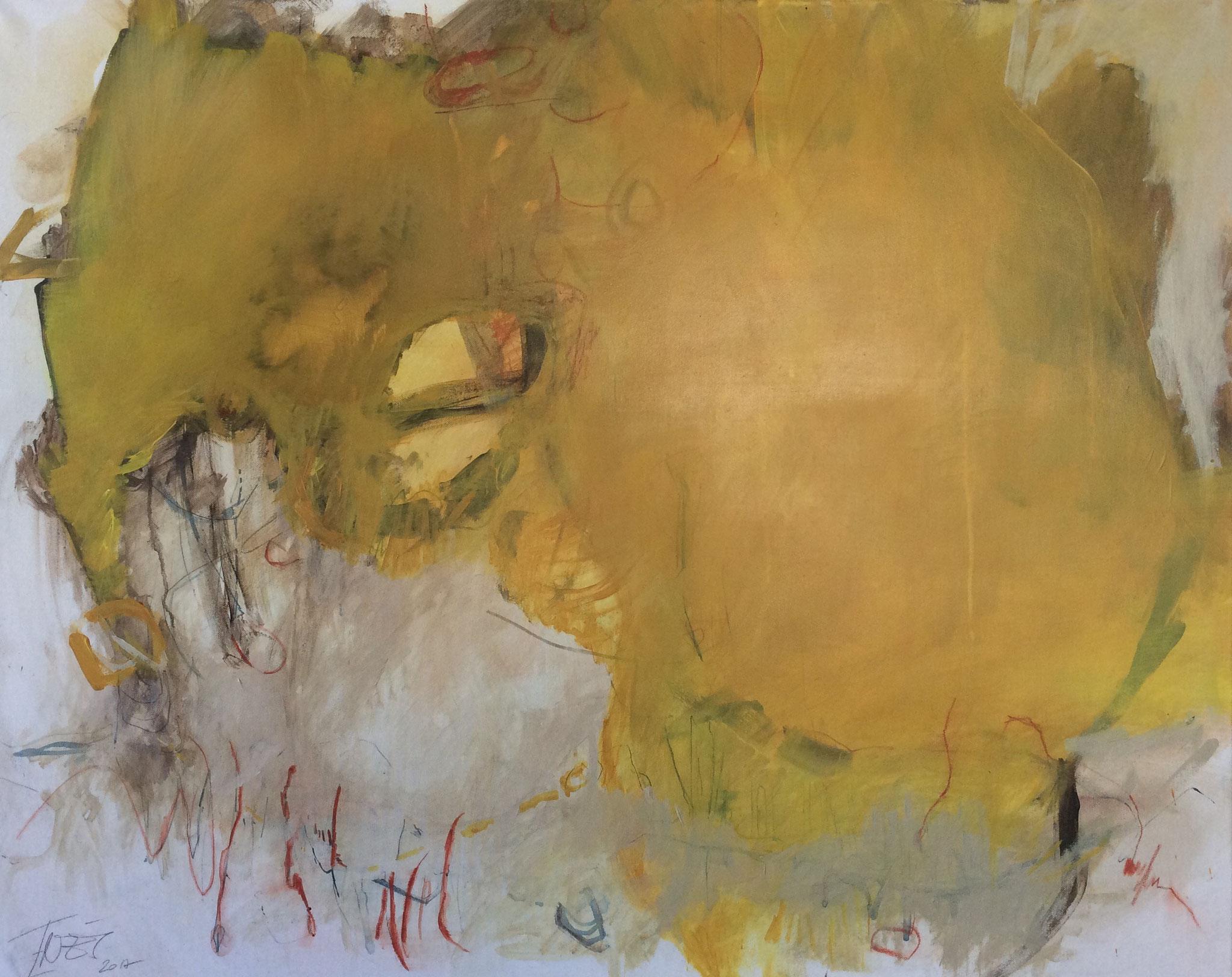 """""""o.T."""", Acrylmalerei auf Leinwand 60x80 cm, 2017"""