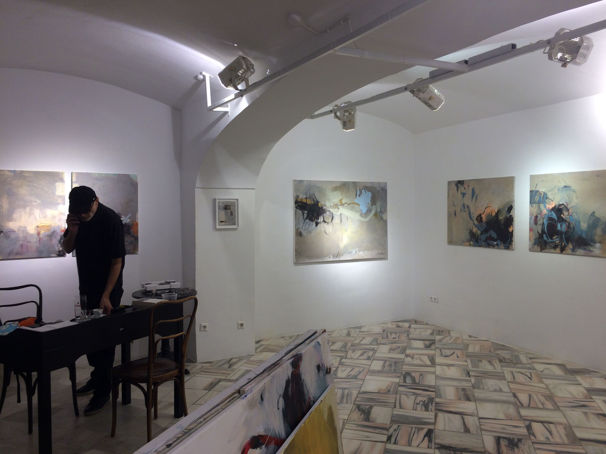 """Exhibition """"Strichspaziergang"""""""