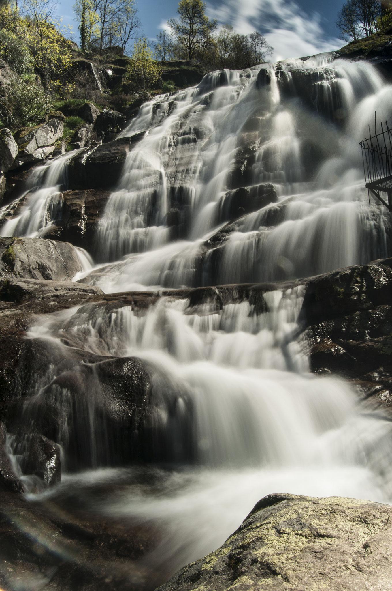 Cascada del Caozo. Cáceres