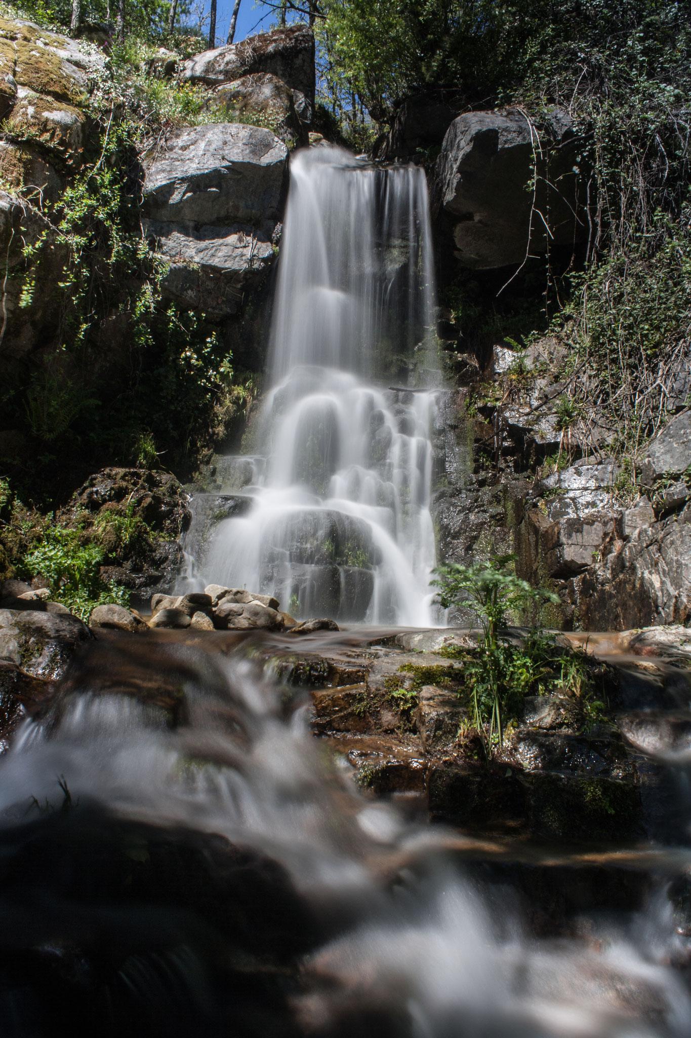 Cascada del Camino del Agua. Sierra de Francia. Salamanca.