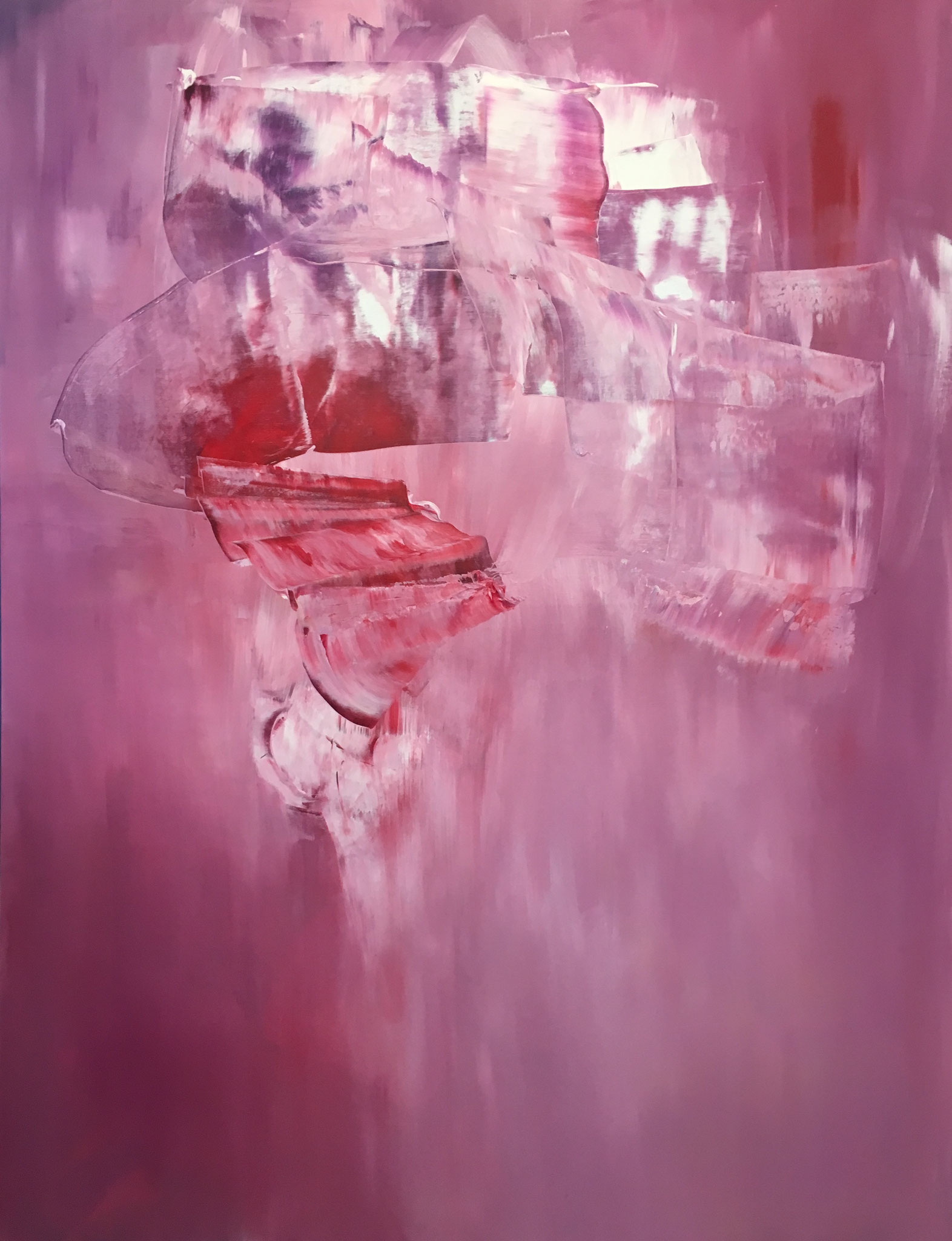 """""""Inside/ Out II"""" Acrylic on Canvas 150x200cm 2018 in privat Collection"""