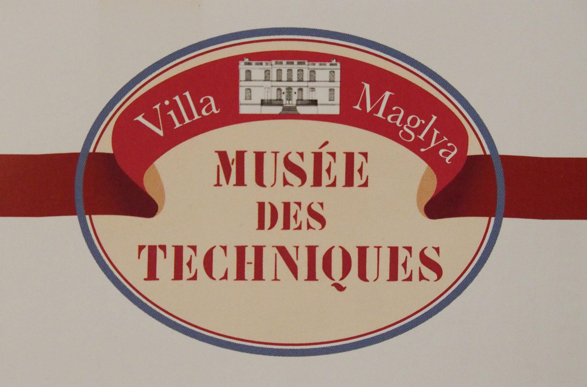 musée des techniques expose les techniques de TISSAGE, ALUMINIUM et PHOTOGRAPHIE