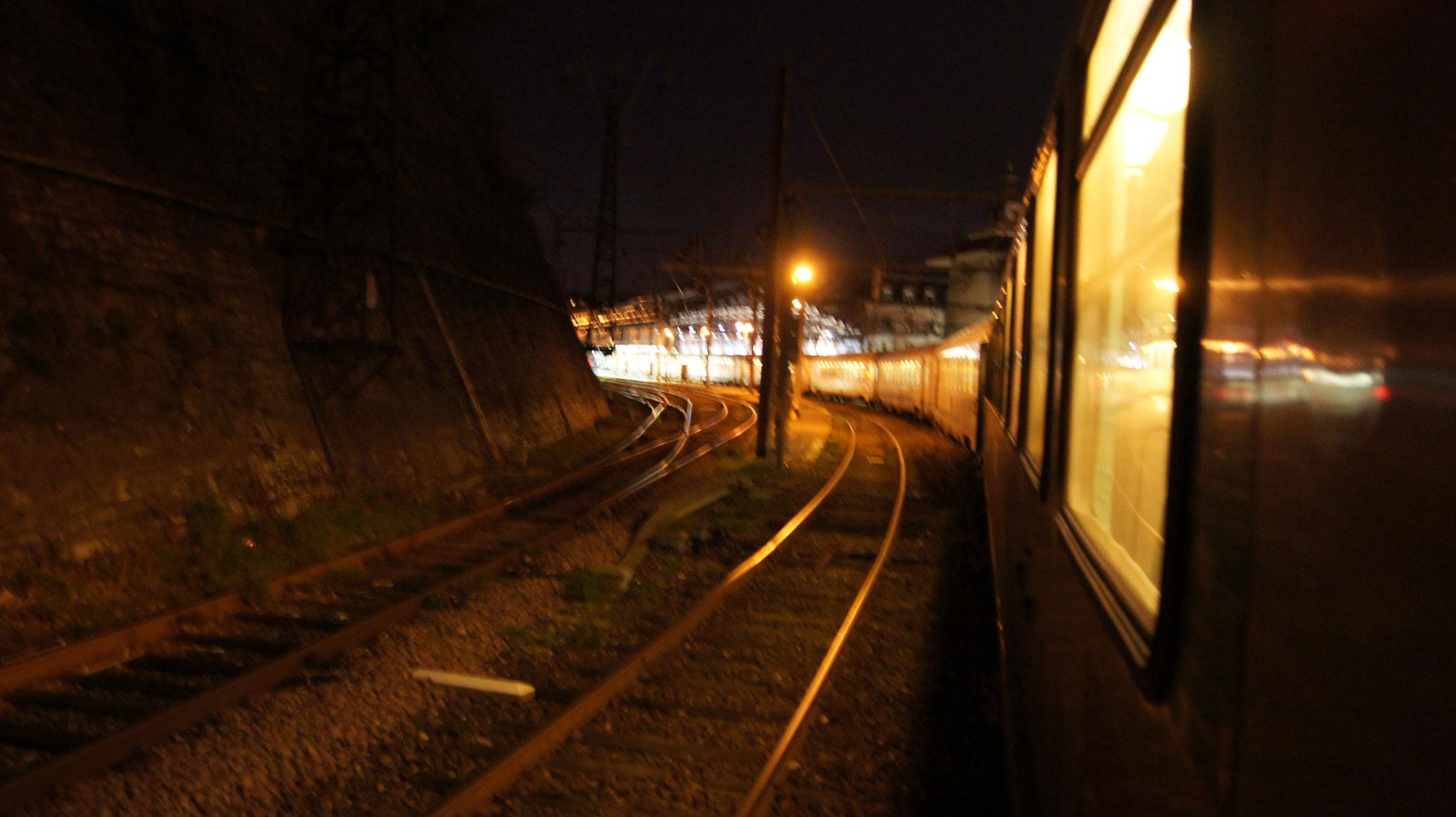 entrée en gare de BAYONNE ( SONY ALPHA 550)