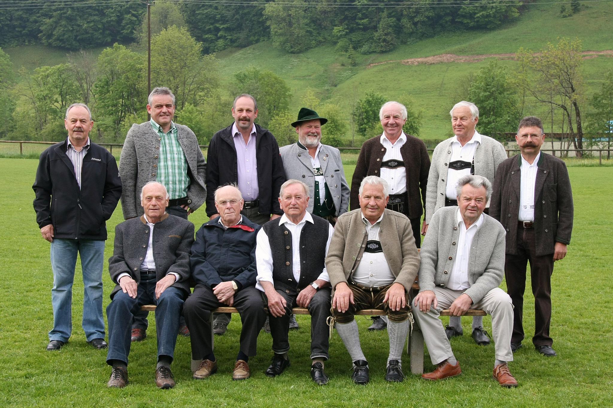Ehrenmitglieder der Musikkapelle Missen-Wilhams
