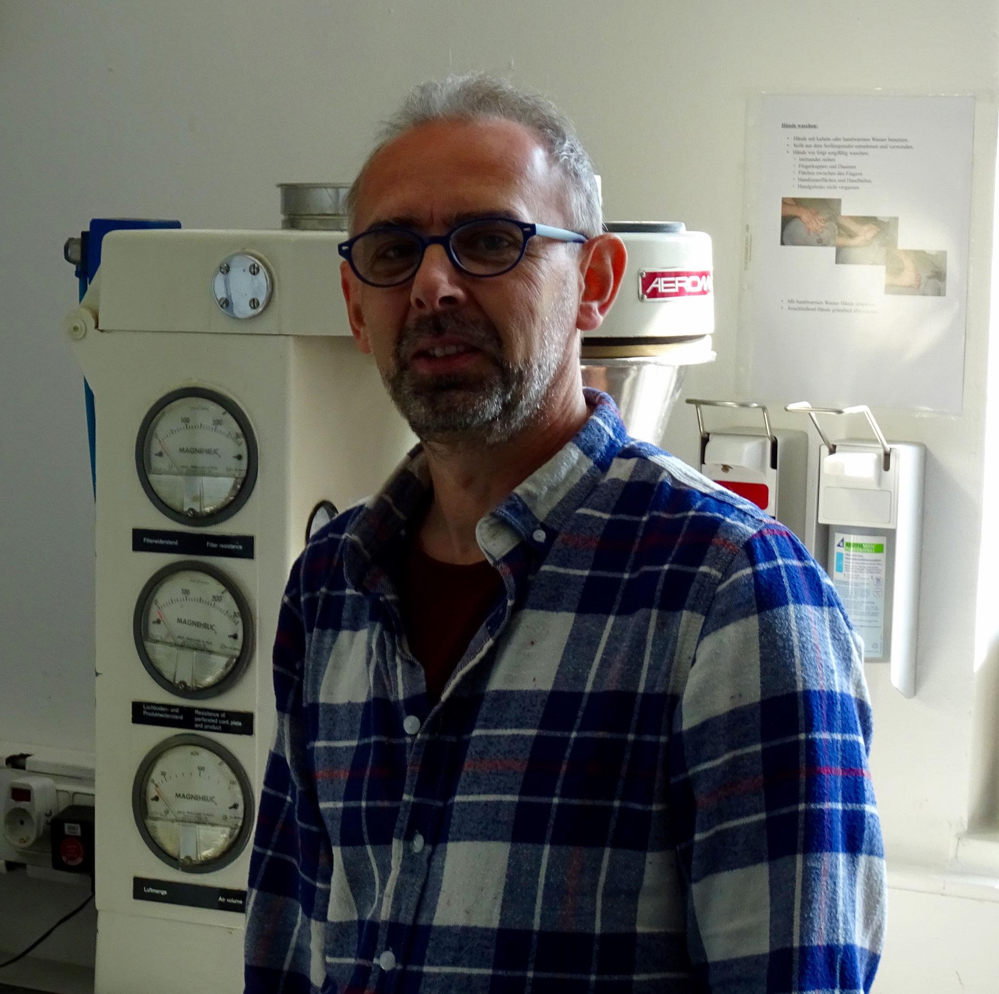 Reinhold Weinfurter, - Herstellungsleiter bei P4M GmbH