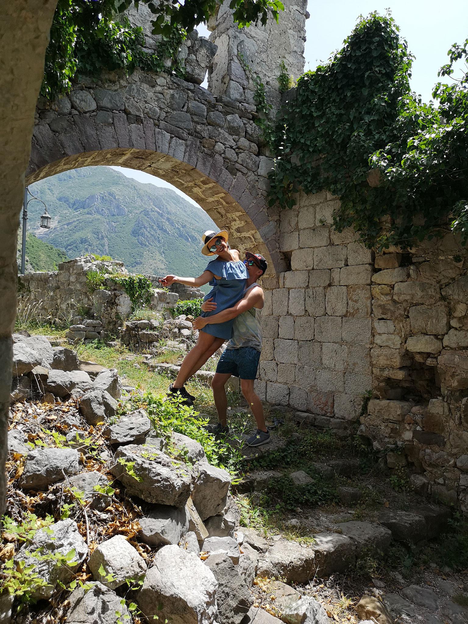 Stari Bar, die verlassene Stadt in Montenegro