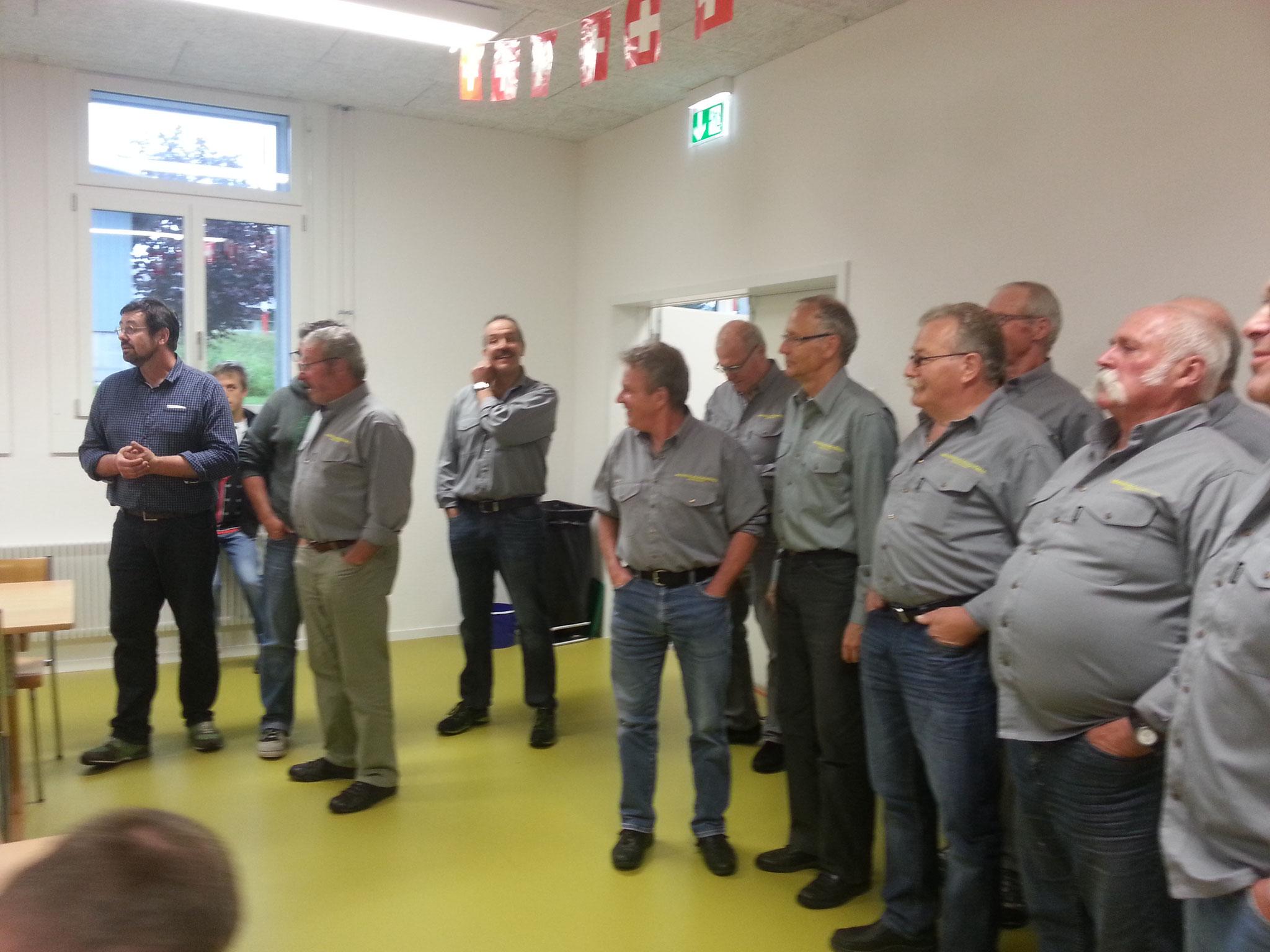 Singen im Karolinenheim Rumendingen 16.06.2016