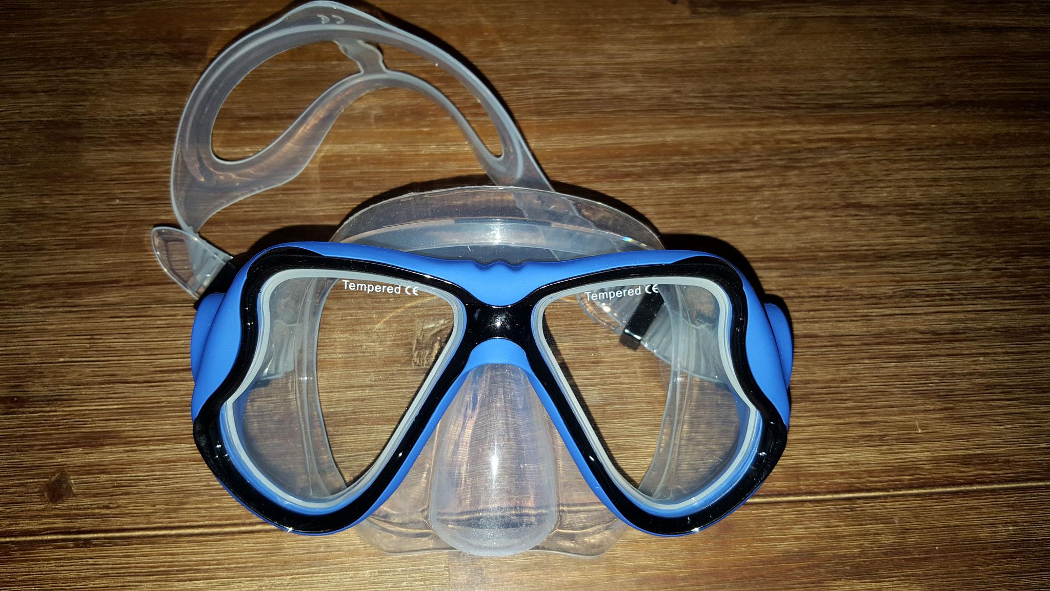 Taucherbrille Vorderansicht
