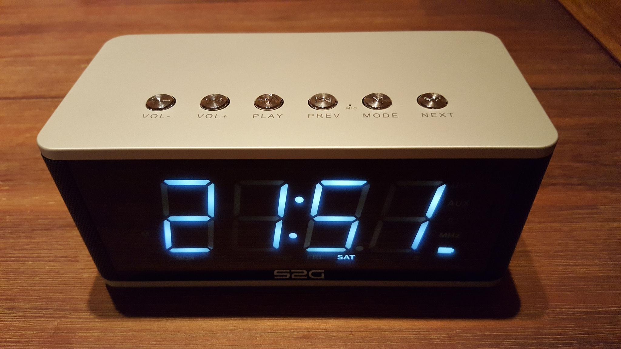 Anzeige Uhrzeit