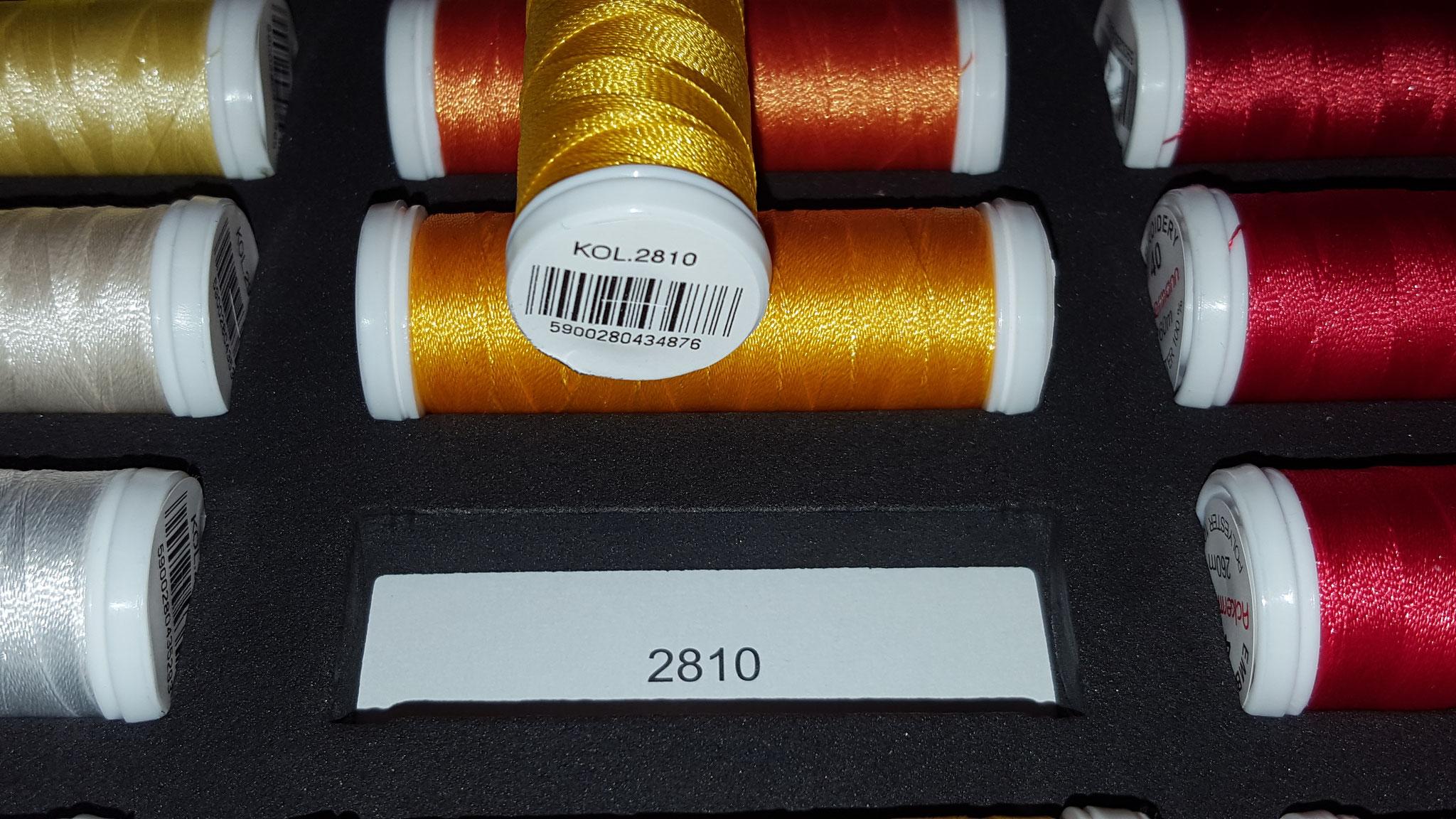 Farbnummer für die Nachbestellung