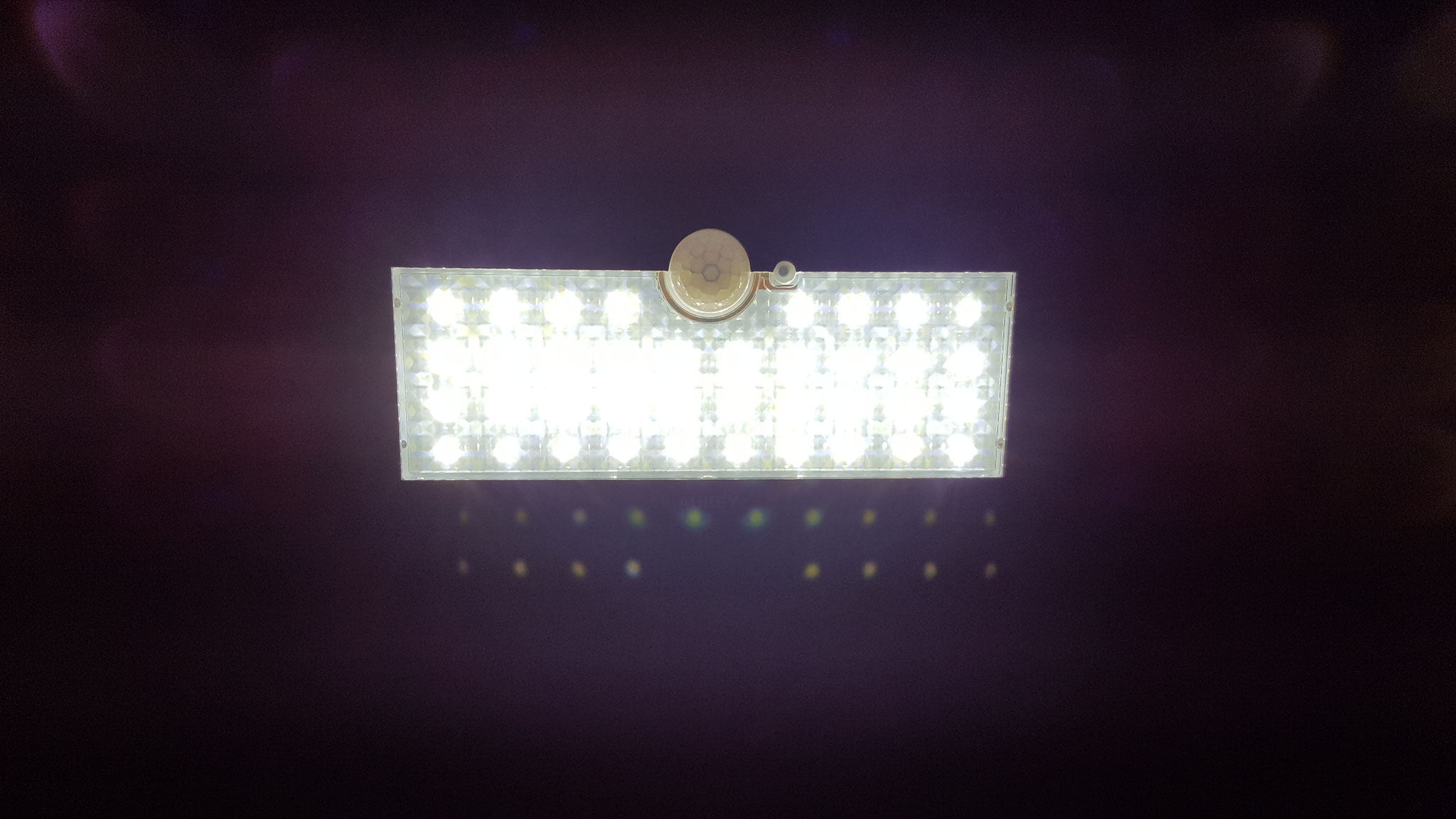 Lampe an