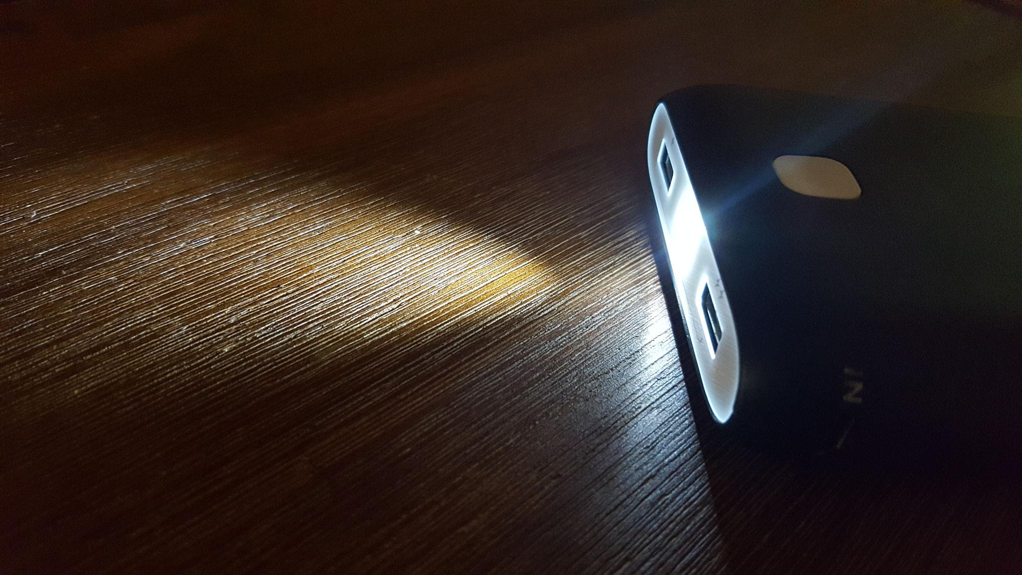 Taschenlampenfunktion