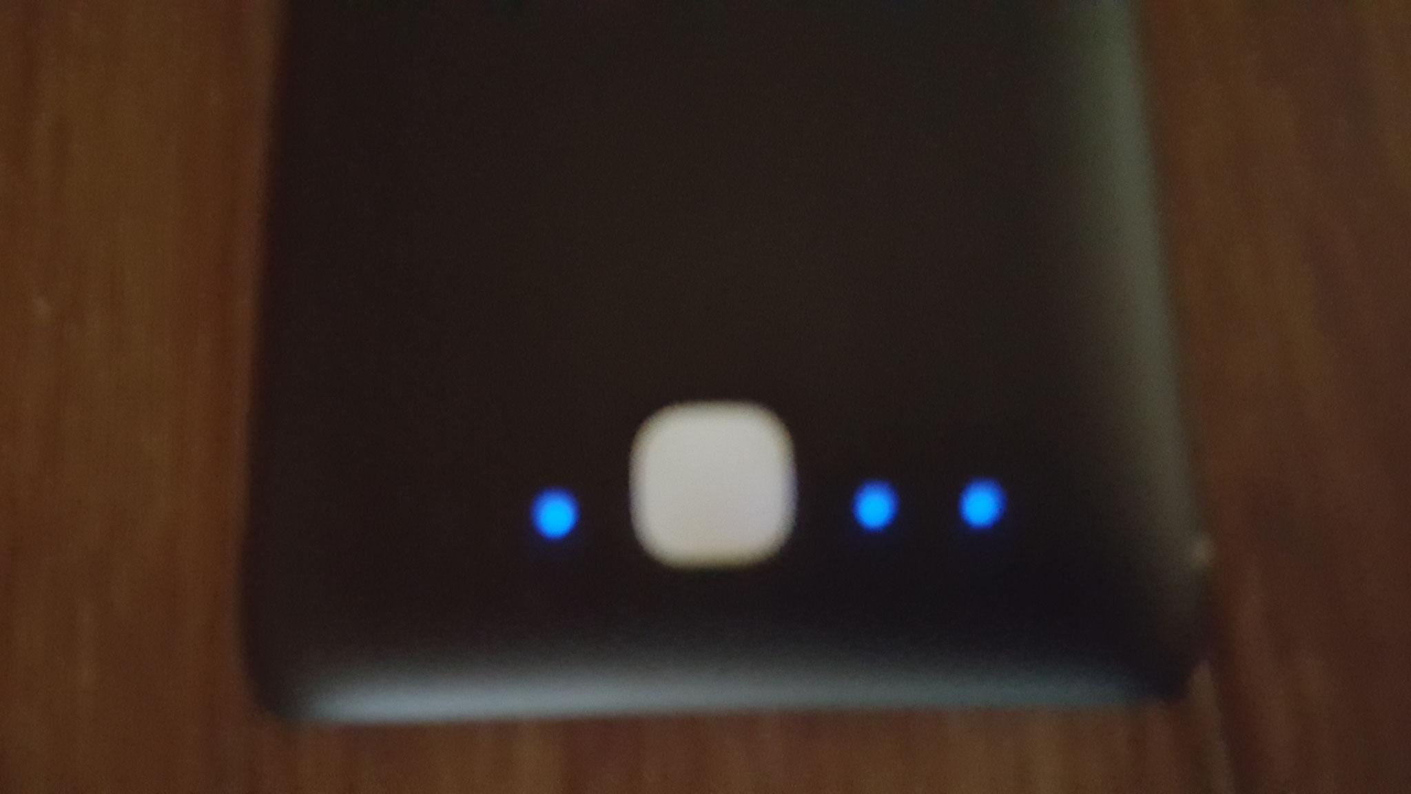 LED für Ladestandsanzeige