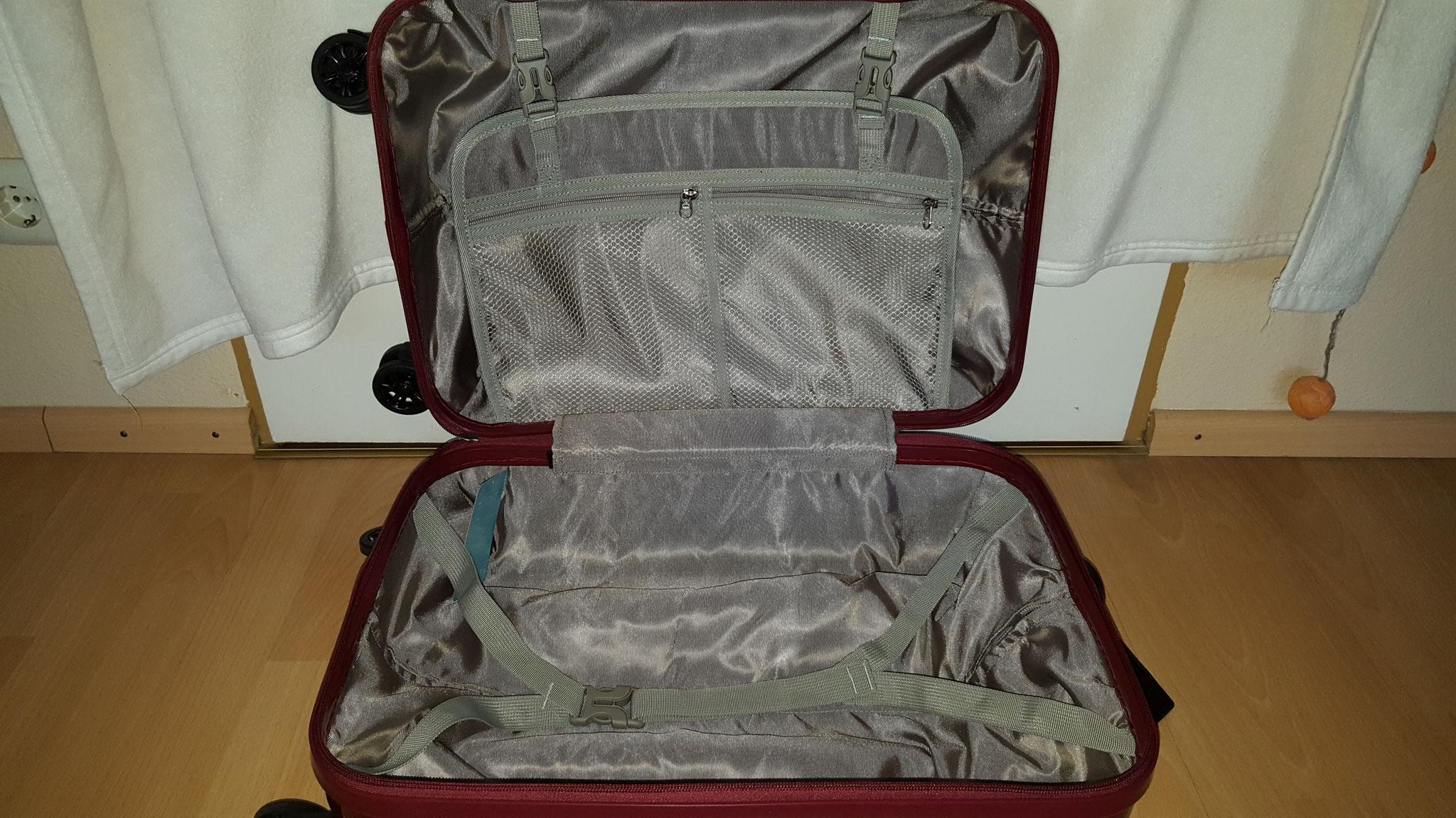 Innenraum kleiner Koffer