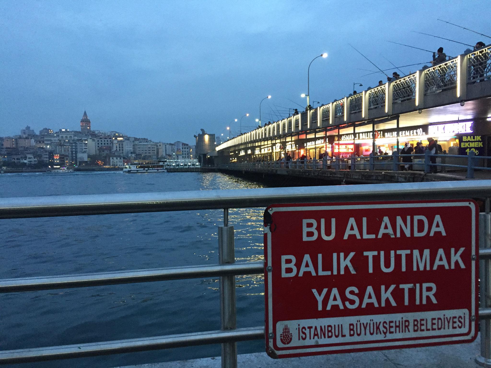 İstanbul  釣りするべからず
