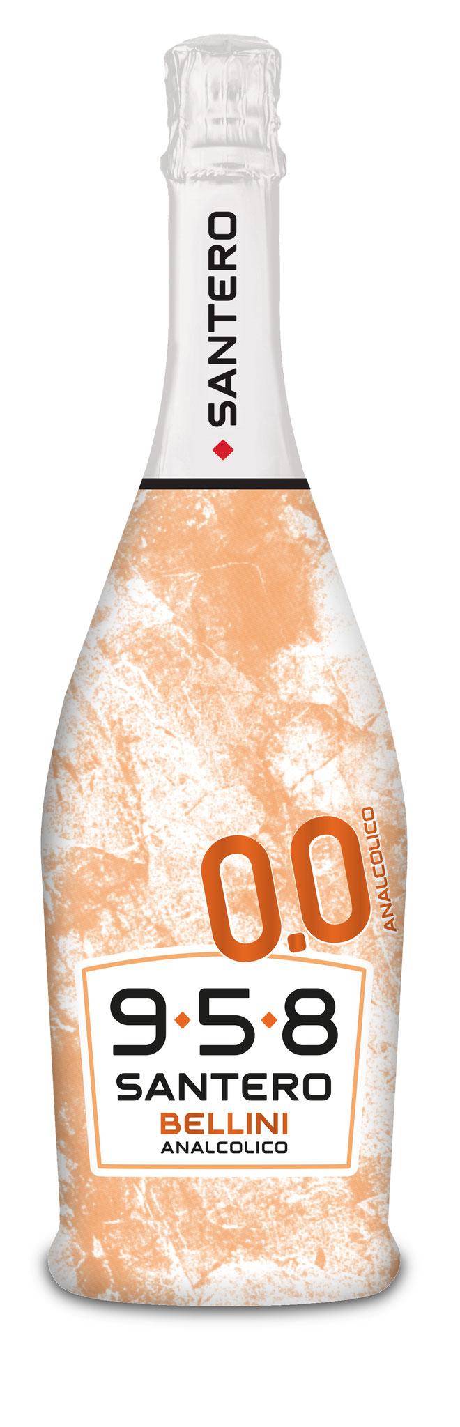 Santero 958 – le vin mousseux Bellini inégalé aussi sans alcool!