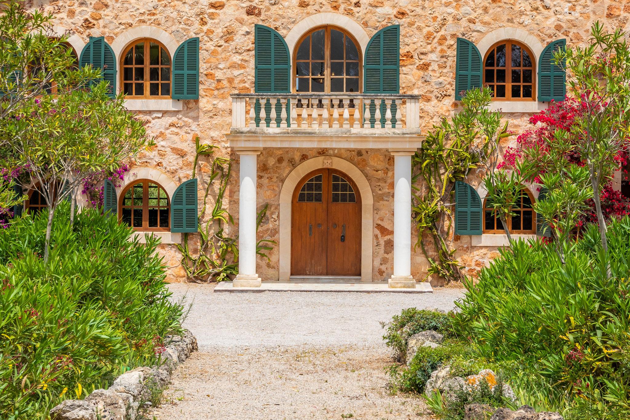 Eingang der Finca Son Mas