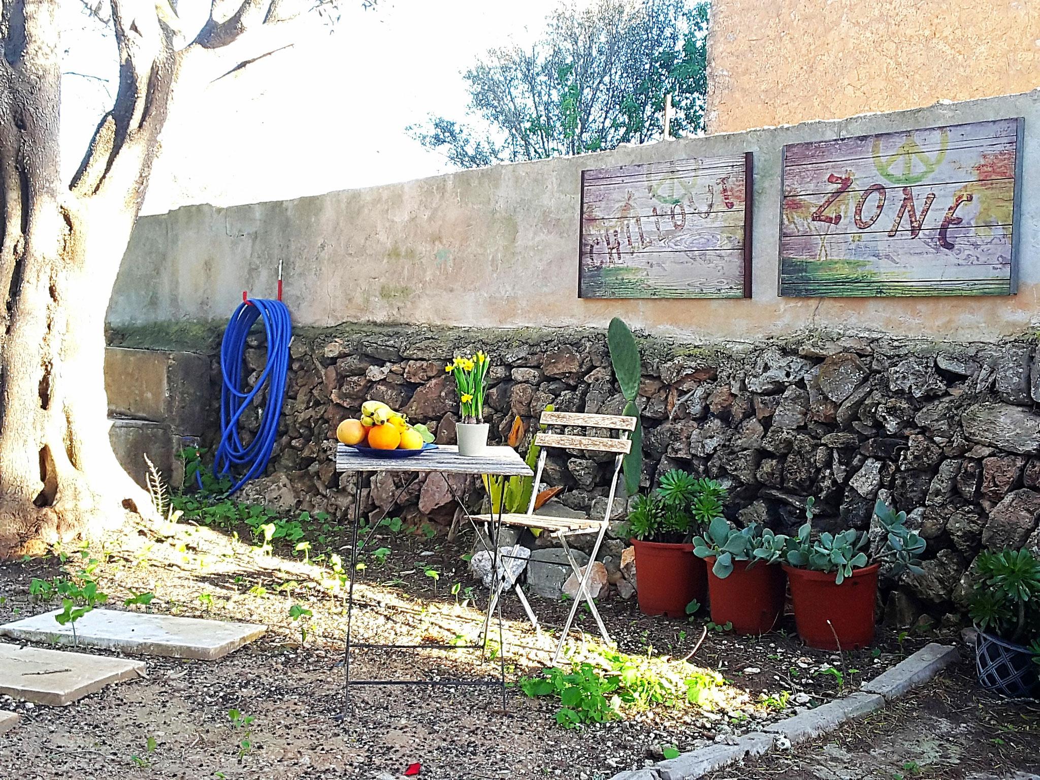 Chill out im Garten