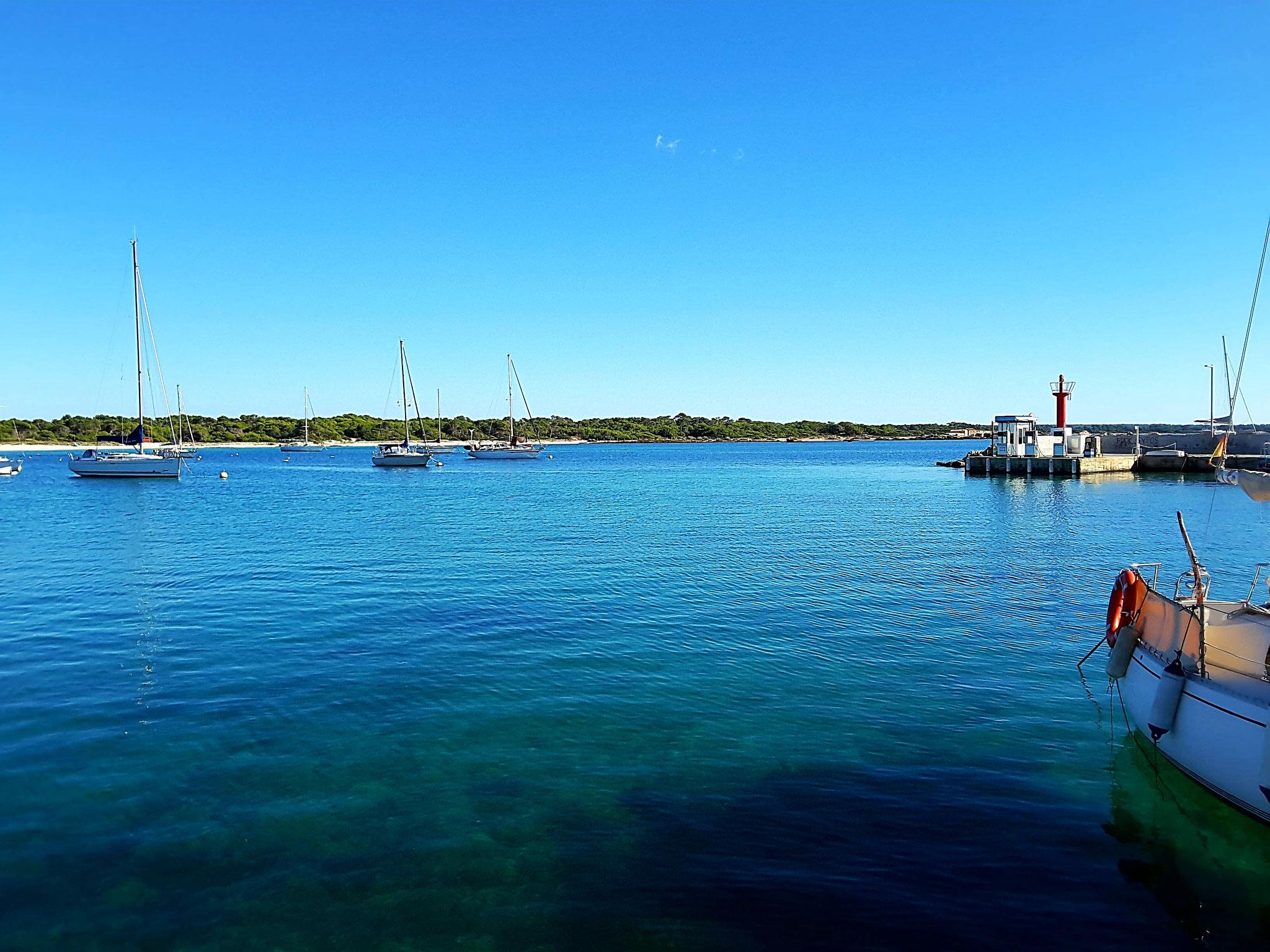 Es Trenc - Ausblick vom Hafen