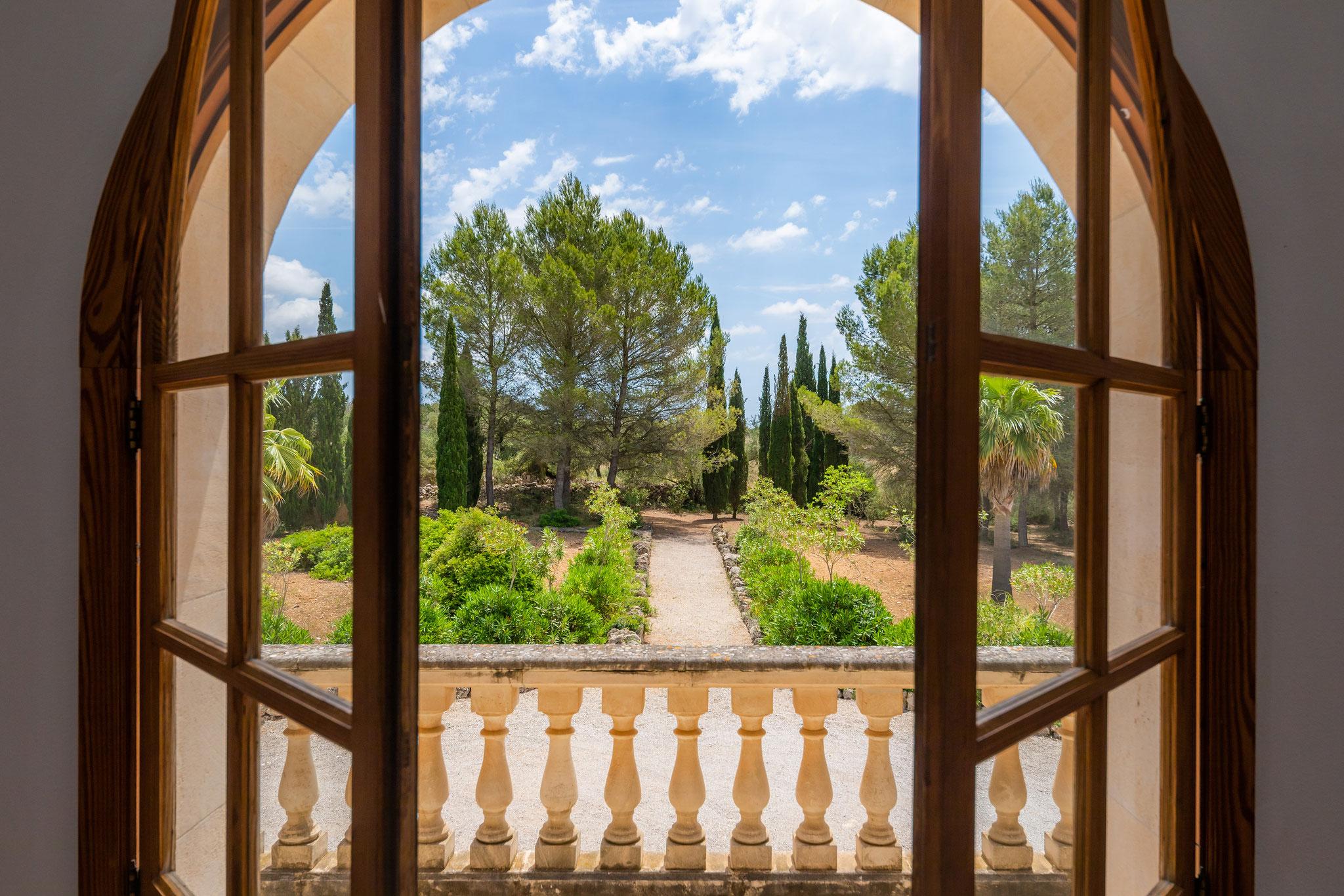 vistas preciosas al jardín