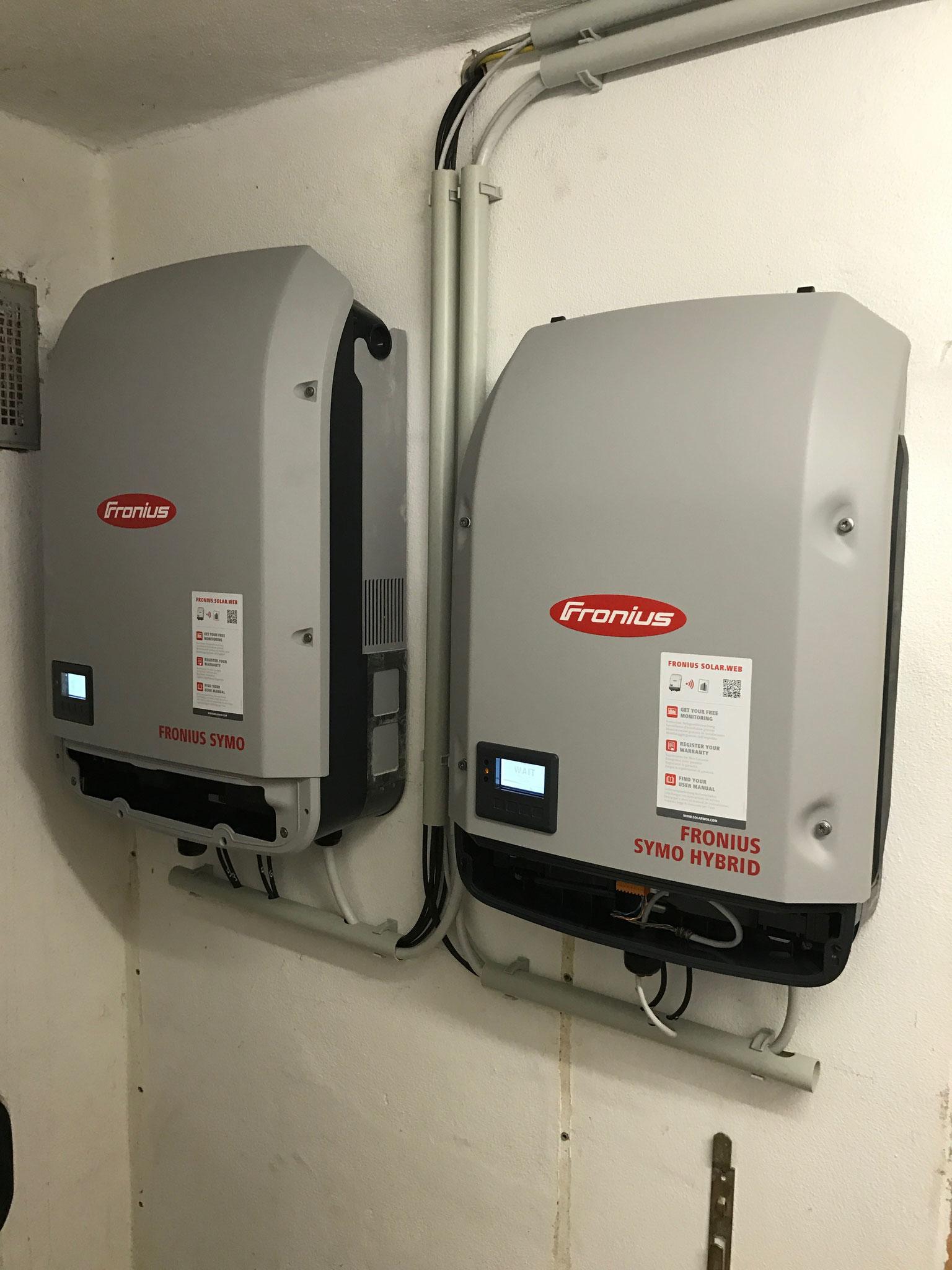 Wechselrichter für 10 bzw. 5 kW