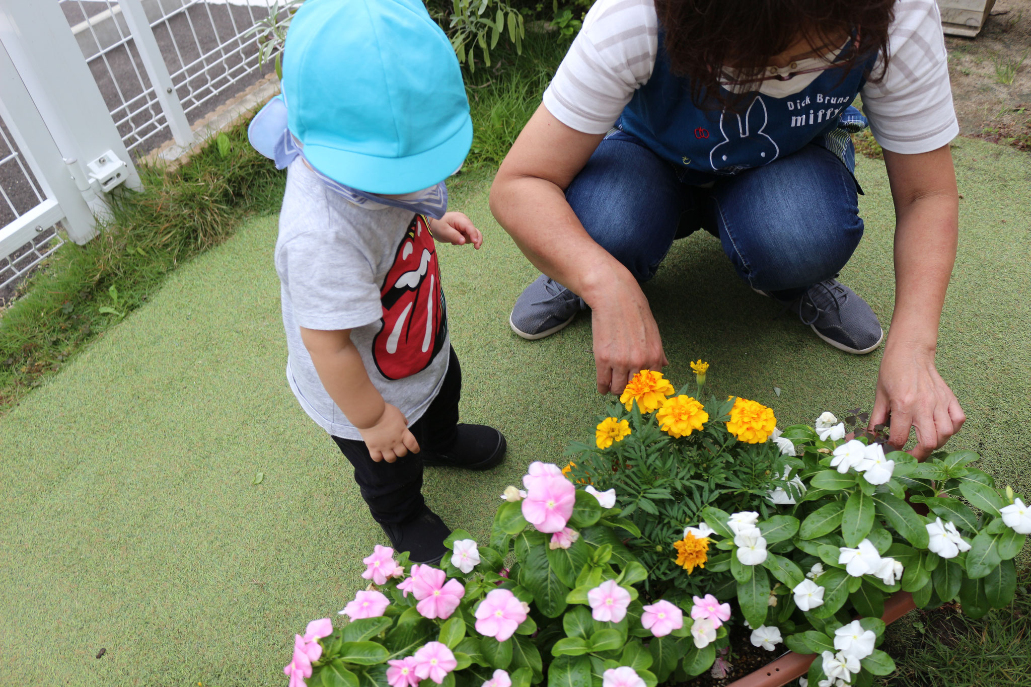 リコリコのお友だちはお花が好きです