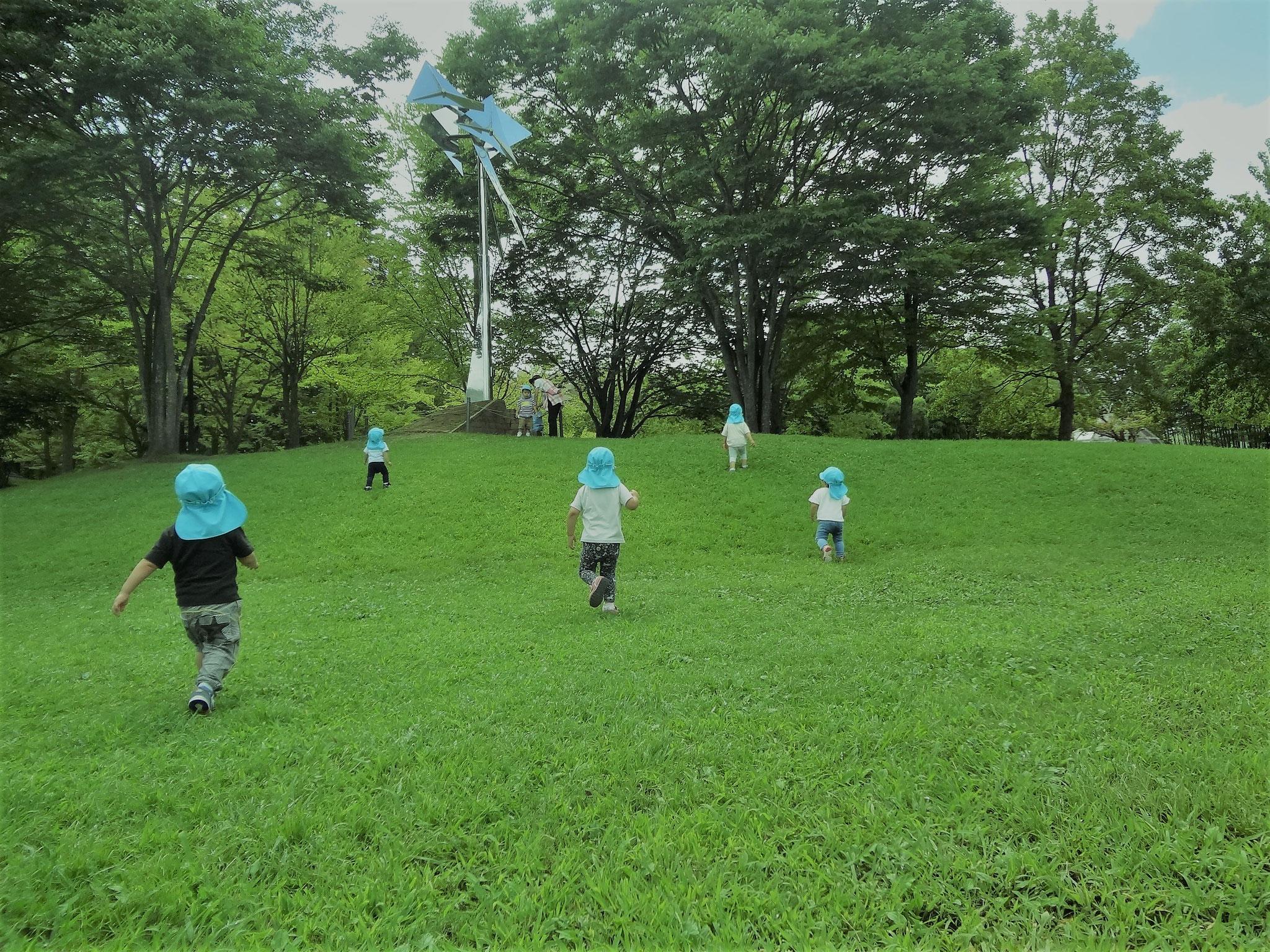 2021.9月のリコリコ保育園のすがた 天気の良い日は七北田公園に行きます