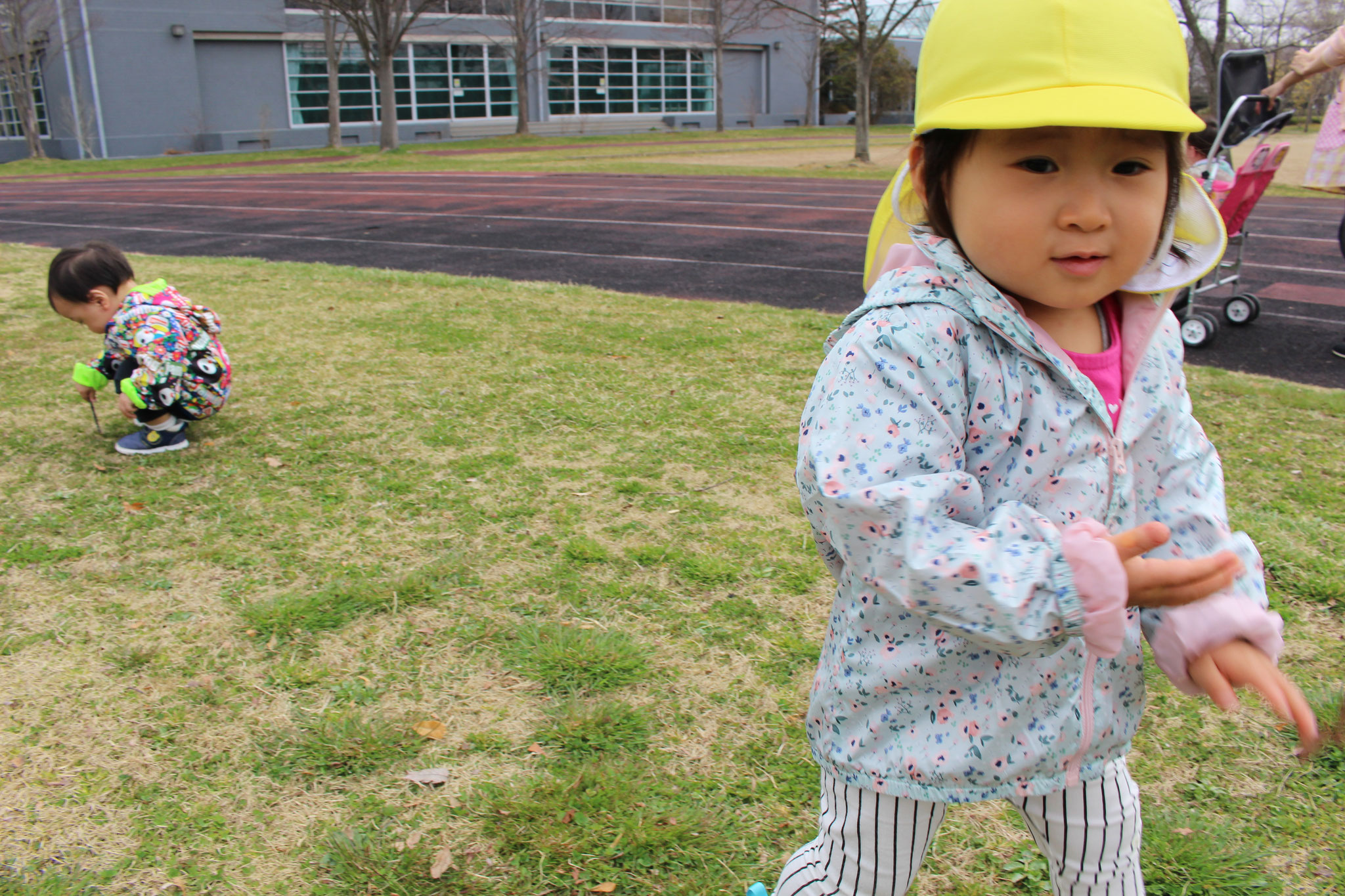 こちらからは 前日、七北田公園へのお散歩です