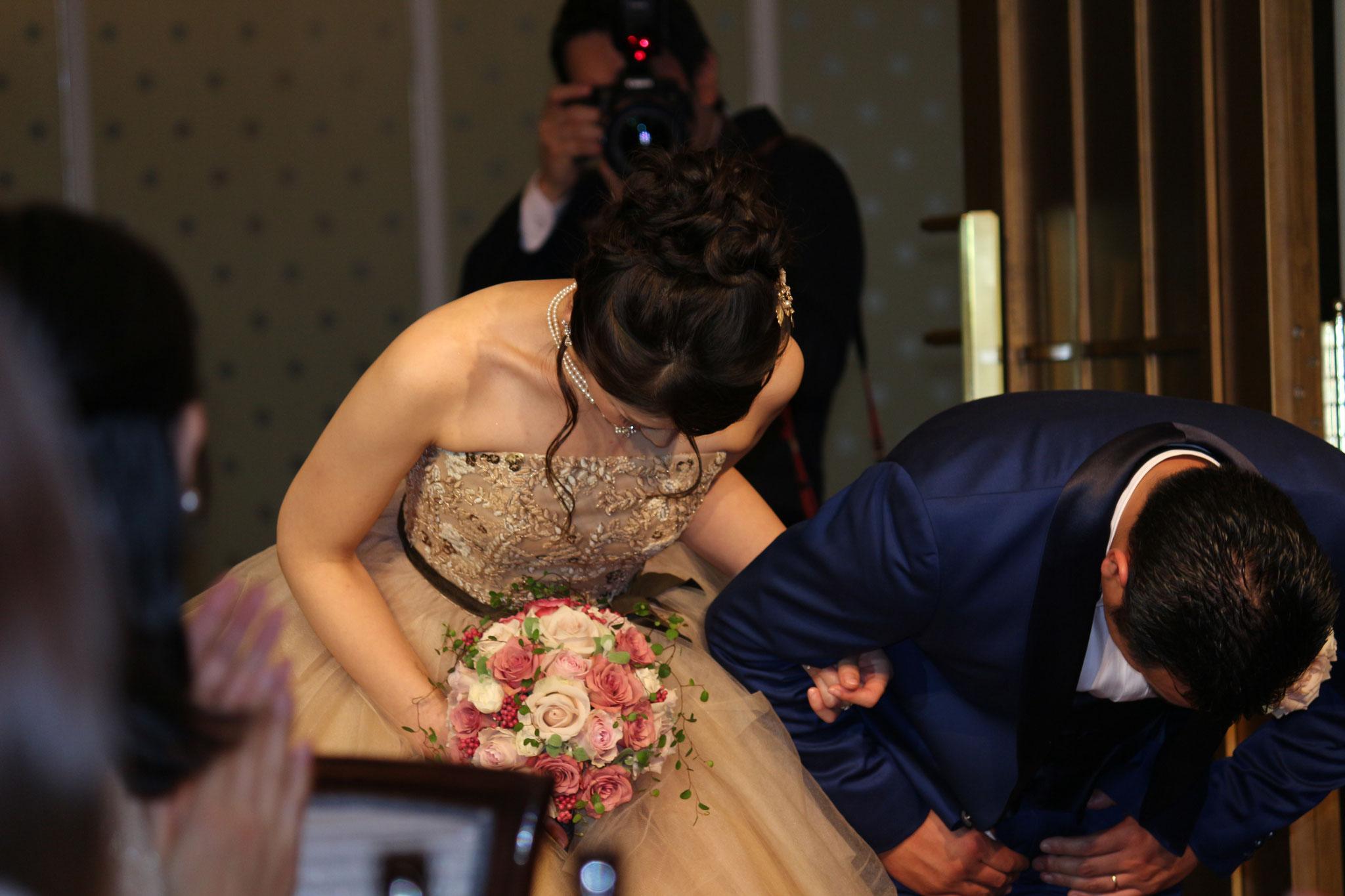 未来あるお二人の結婚式に参加できて幸せな気持ちになりました! 本当におめでとうございます! お幸せに!!(^^