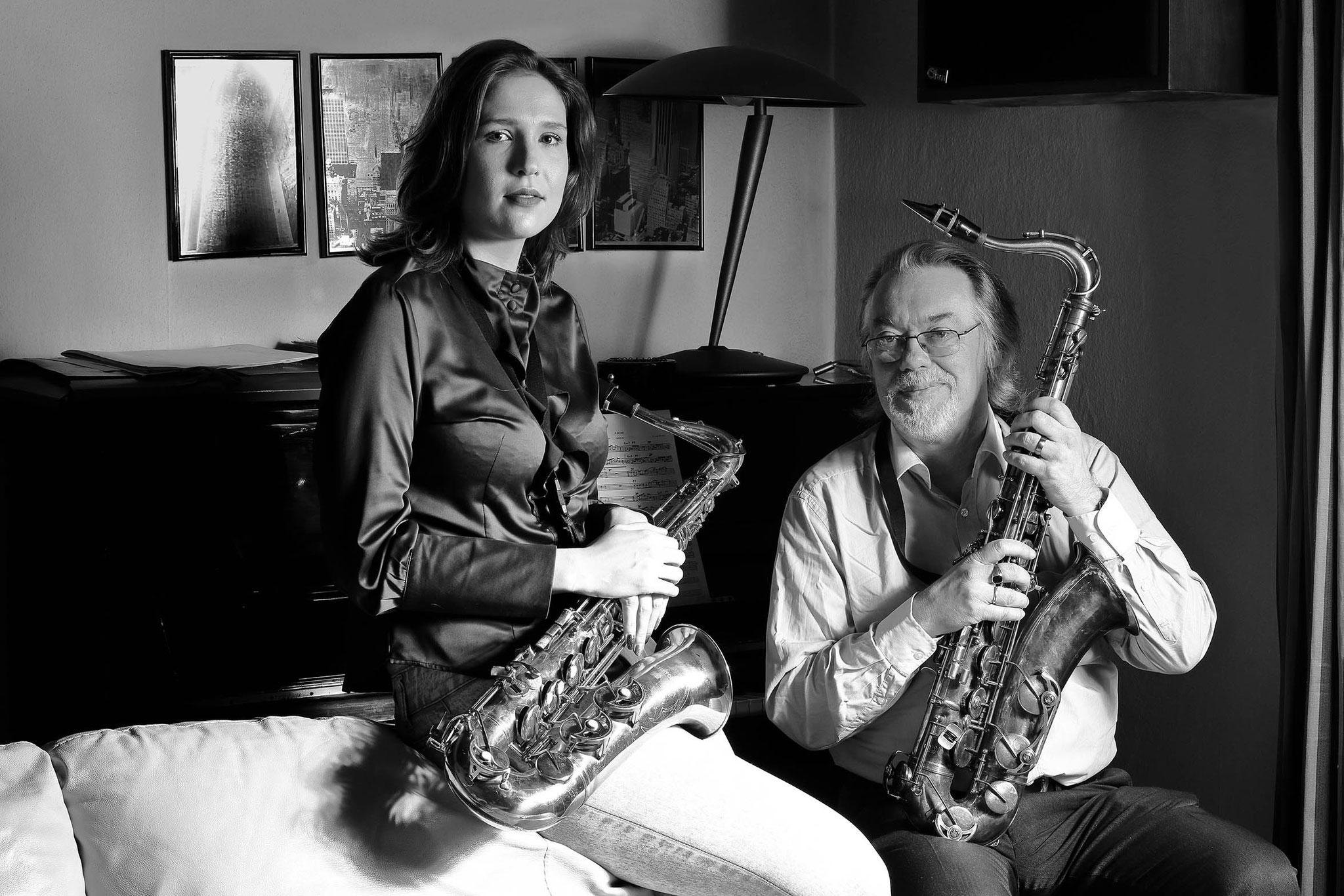 """Alois Haas """"Sara Gallitz, Michael Außerbauer - Jazz-Musiker, Tenor Steps"""""""