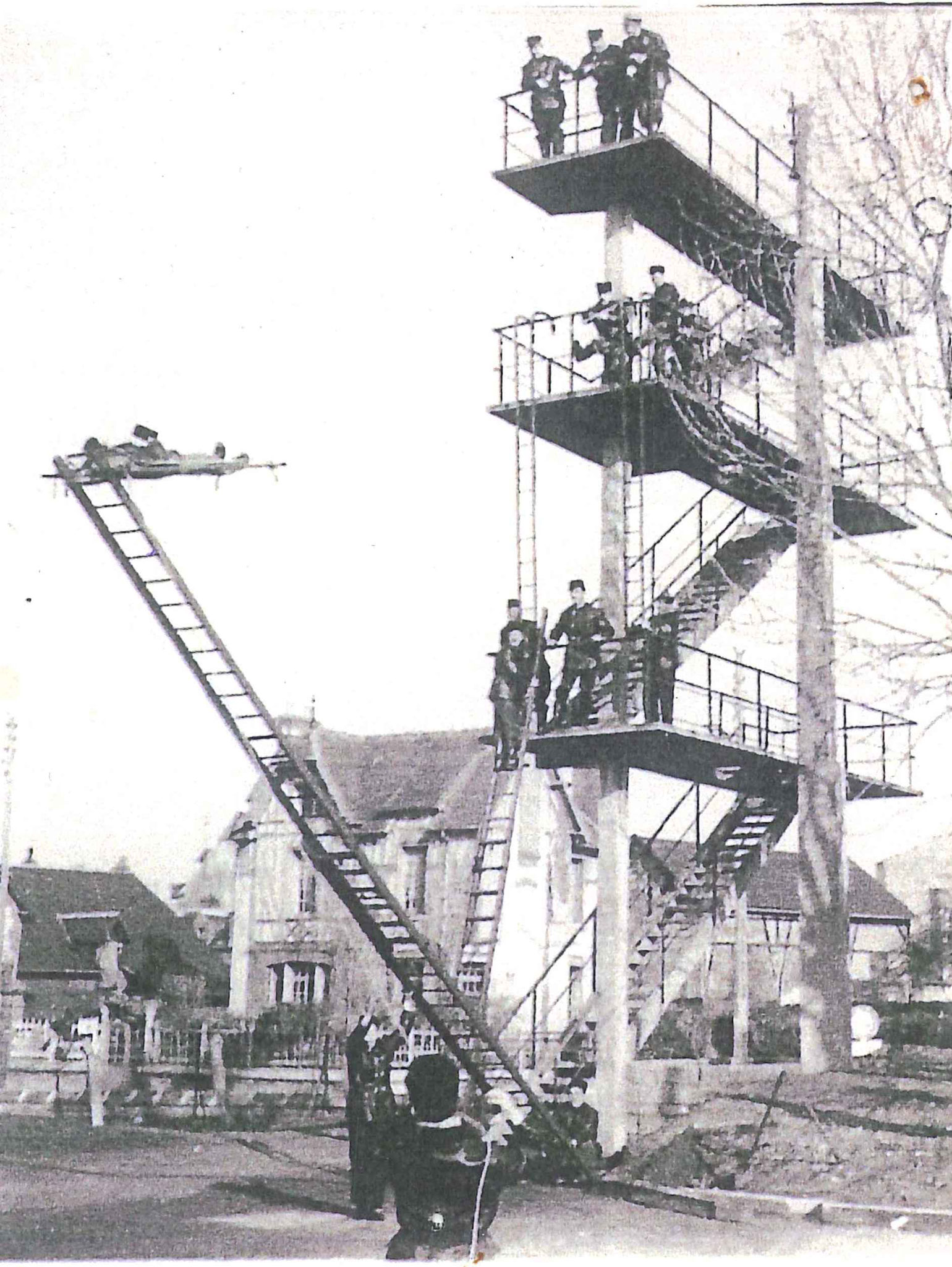 Escaliers de pompiers