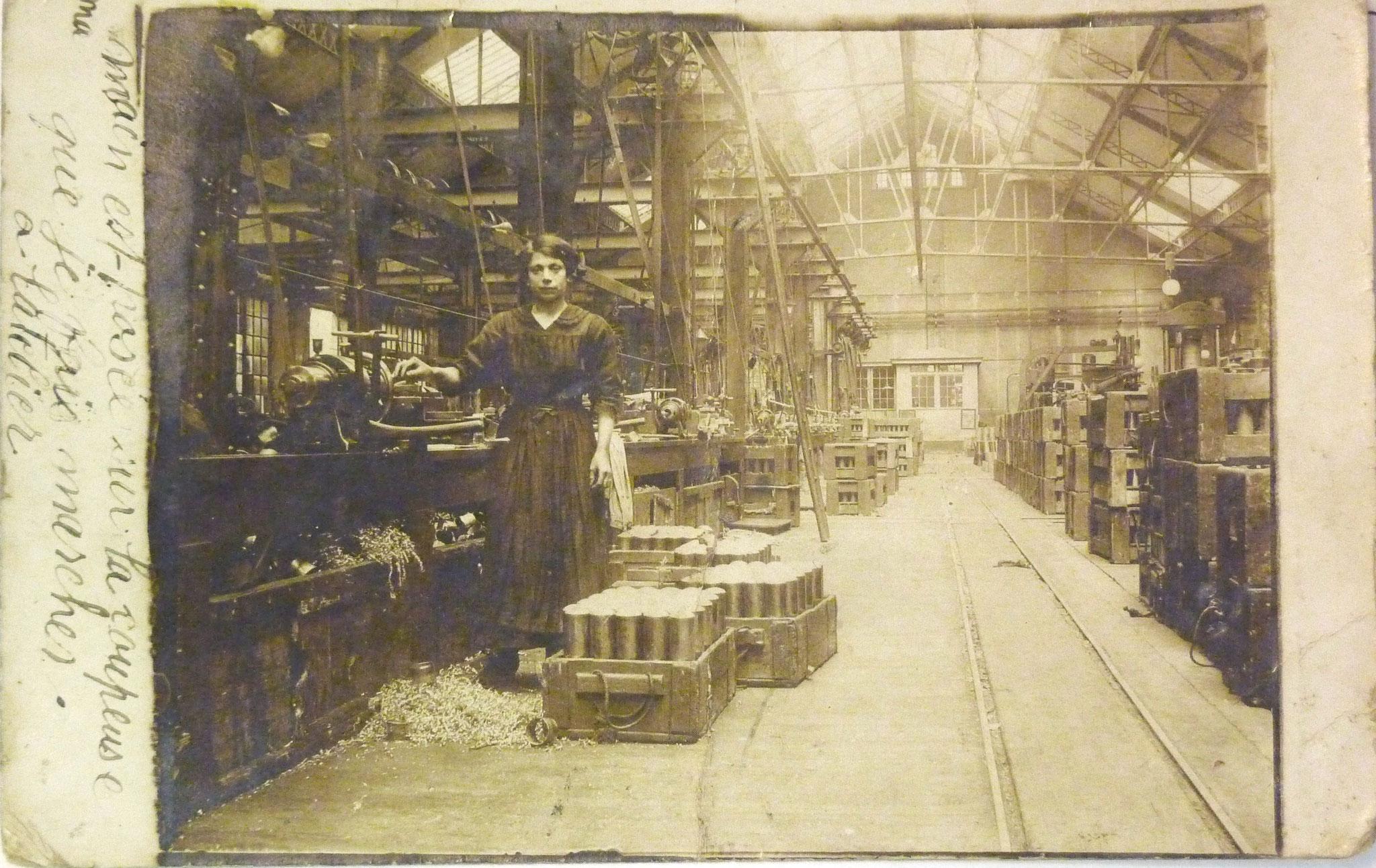 L'usine 1917
