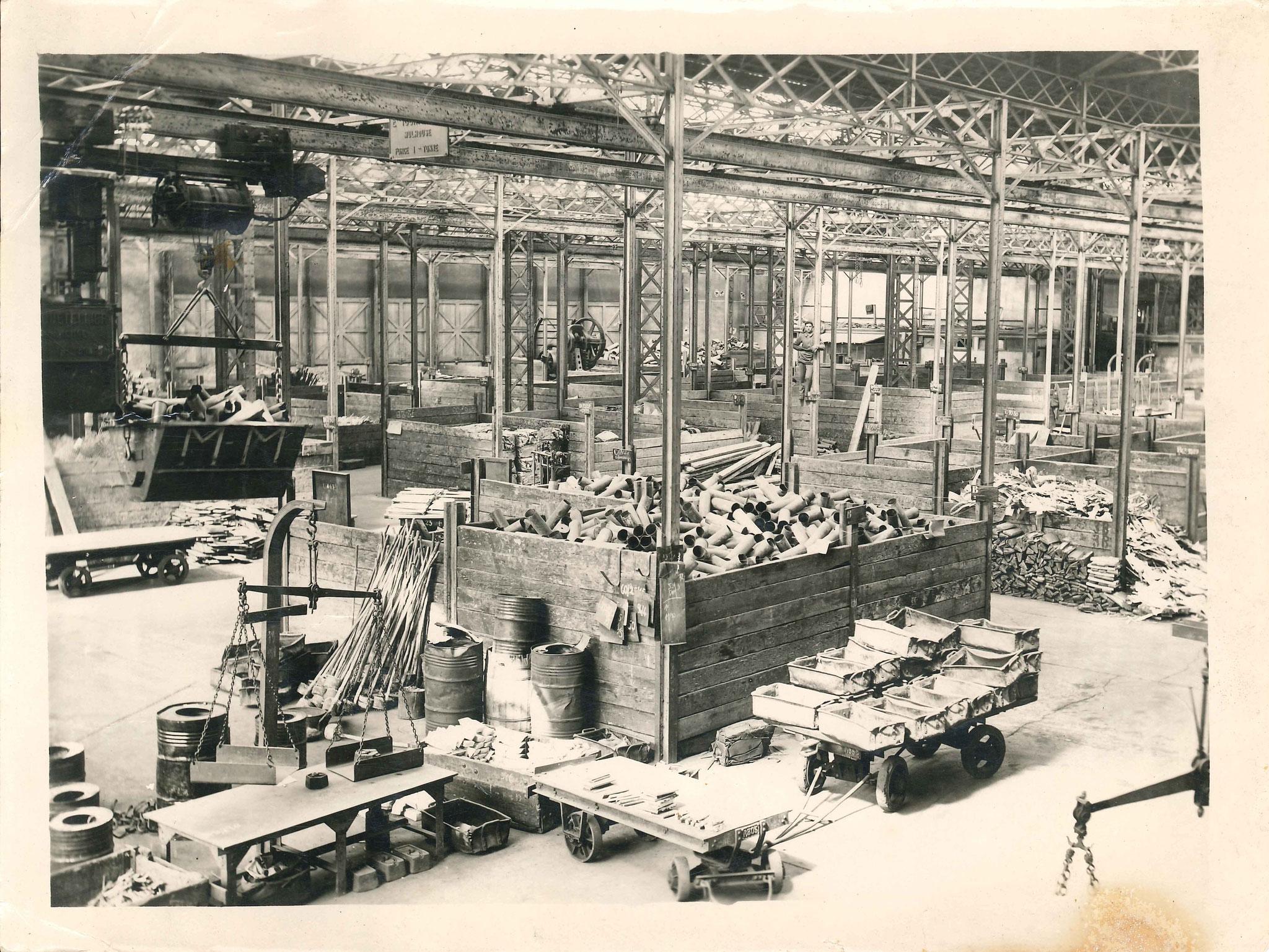 Atelier douilles - Collection Romanet