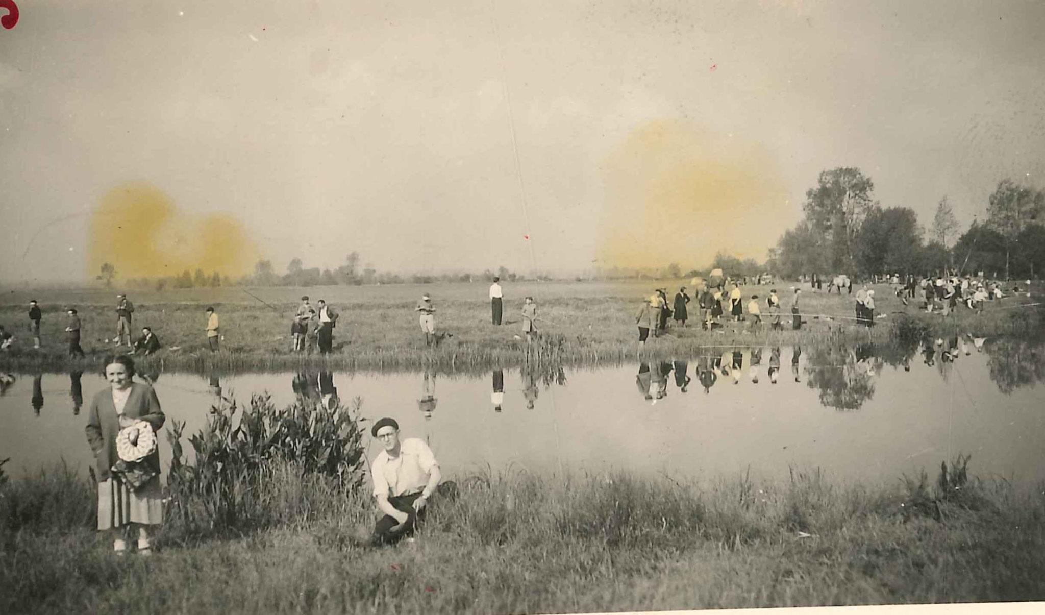 Concours de peche - 1955