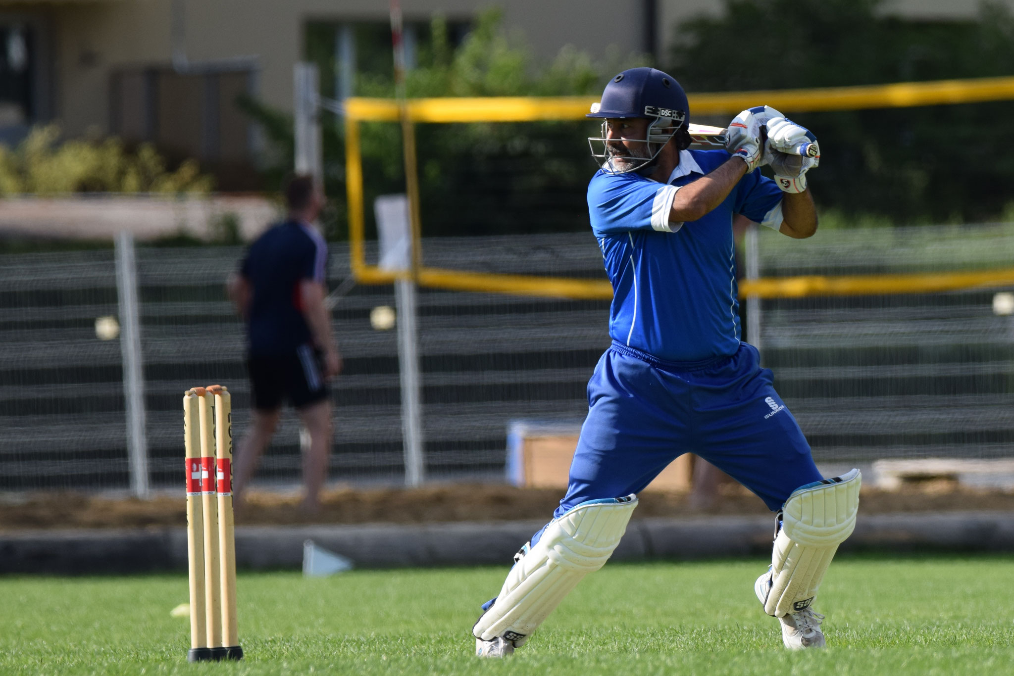 Baljit's 50 runs off 40 balls were a joy to watch. He was caught just 6 runs later.