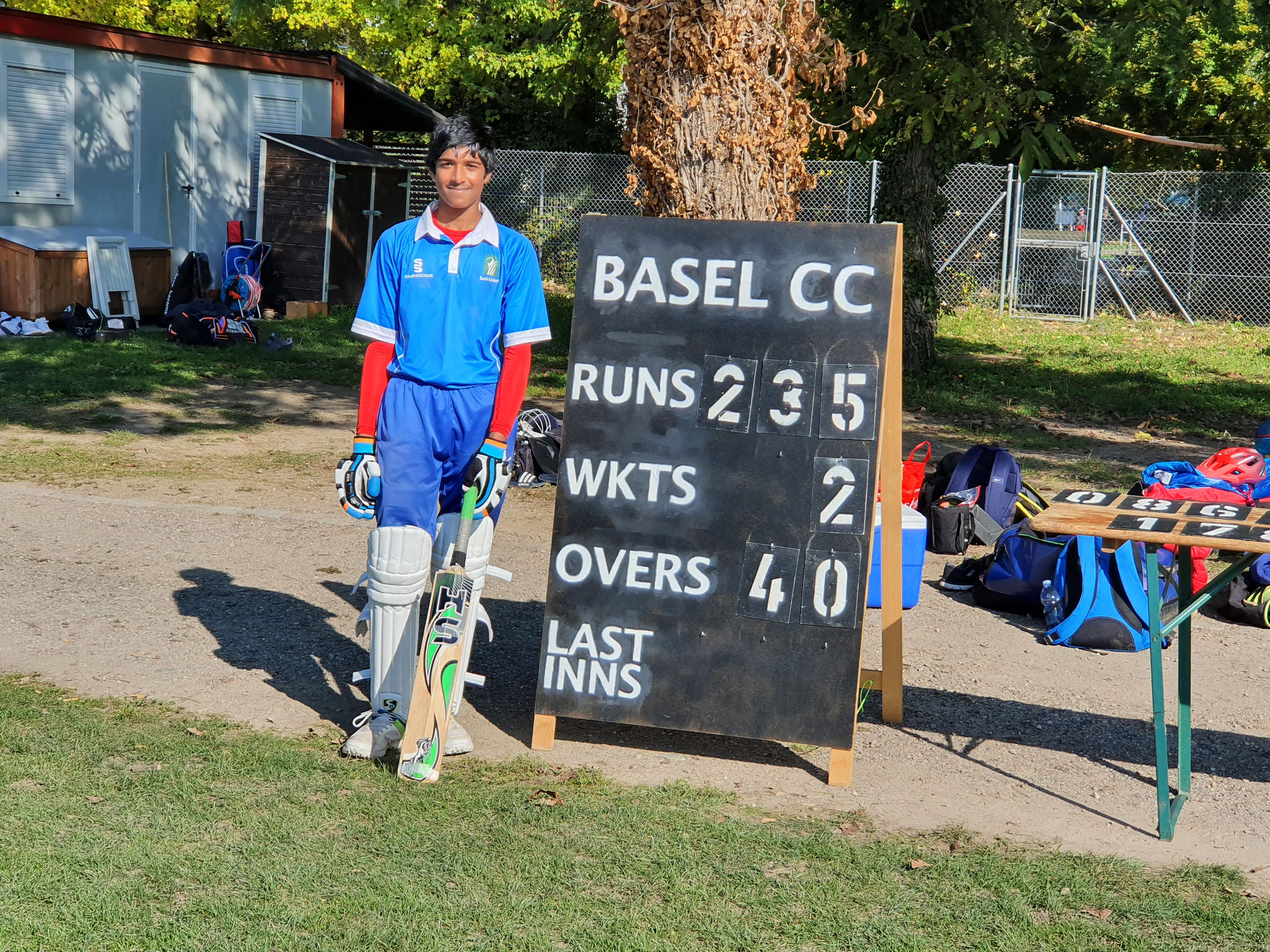 Another half-century (58*) followed Shankar's fine performances for the winning ZCCC team at the Romande Cup
