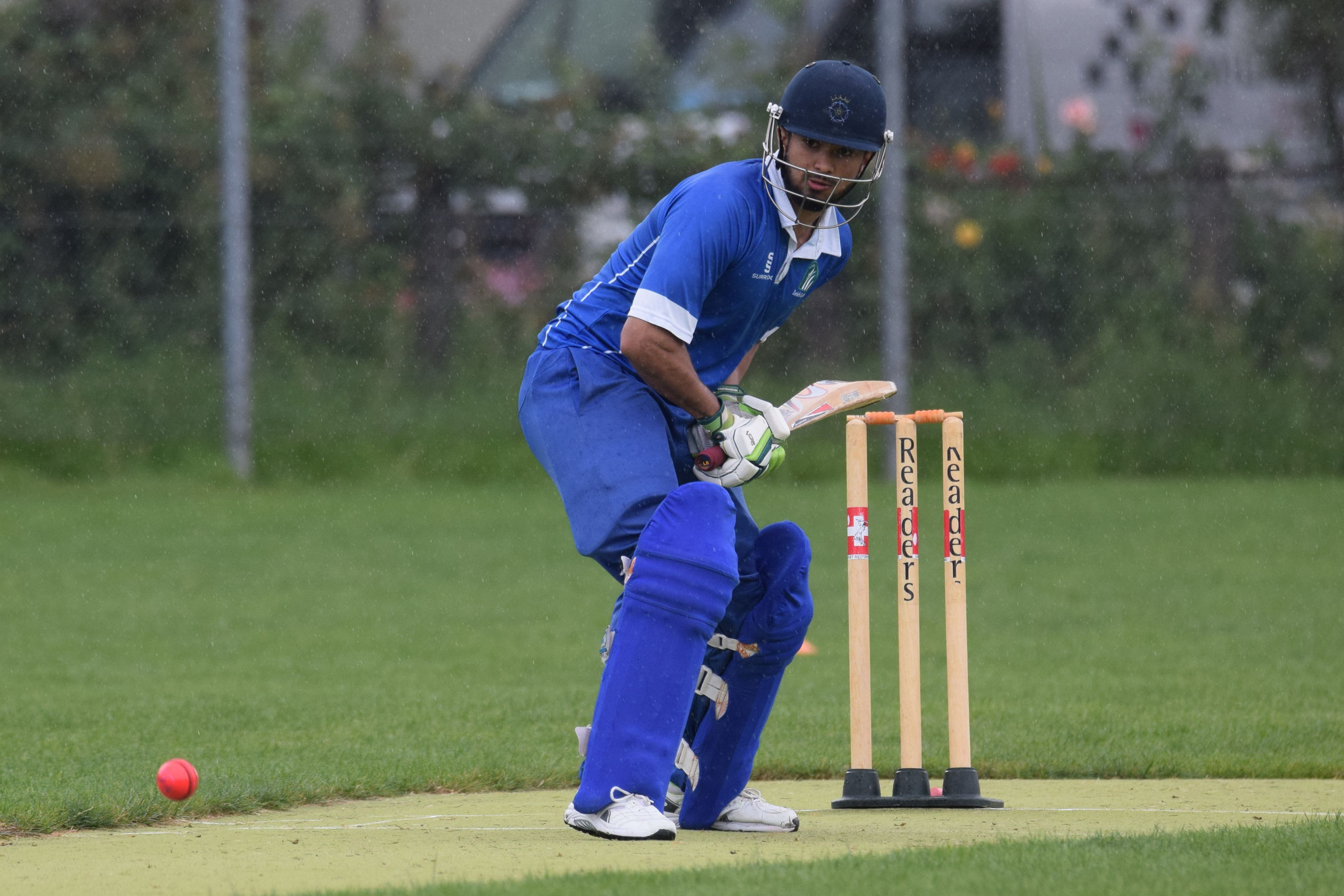 Khawar opened the batting for the 2nd XI.