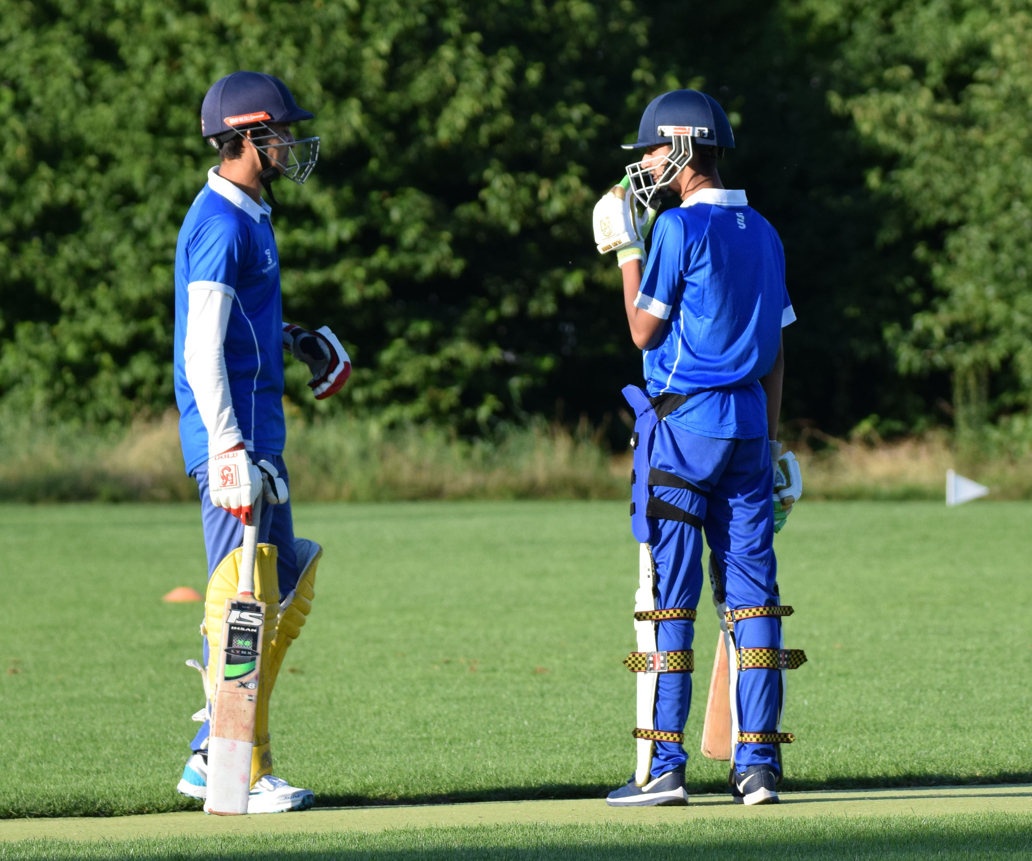 Danyal joined Latif but did not manage to face a ball. Zurich Crickets, to their credit, did bat out the 20 overs though, finishing on 108 for 8.